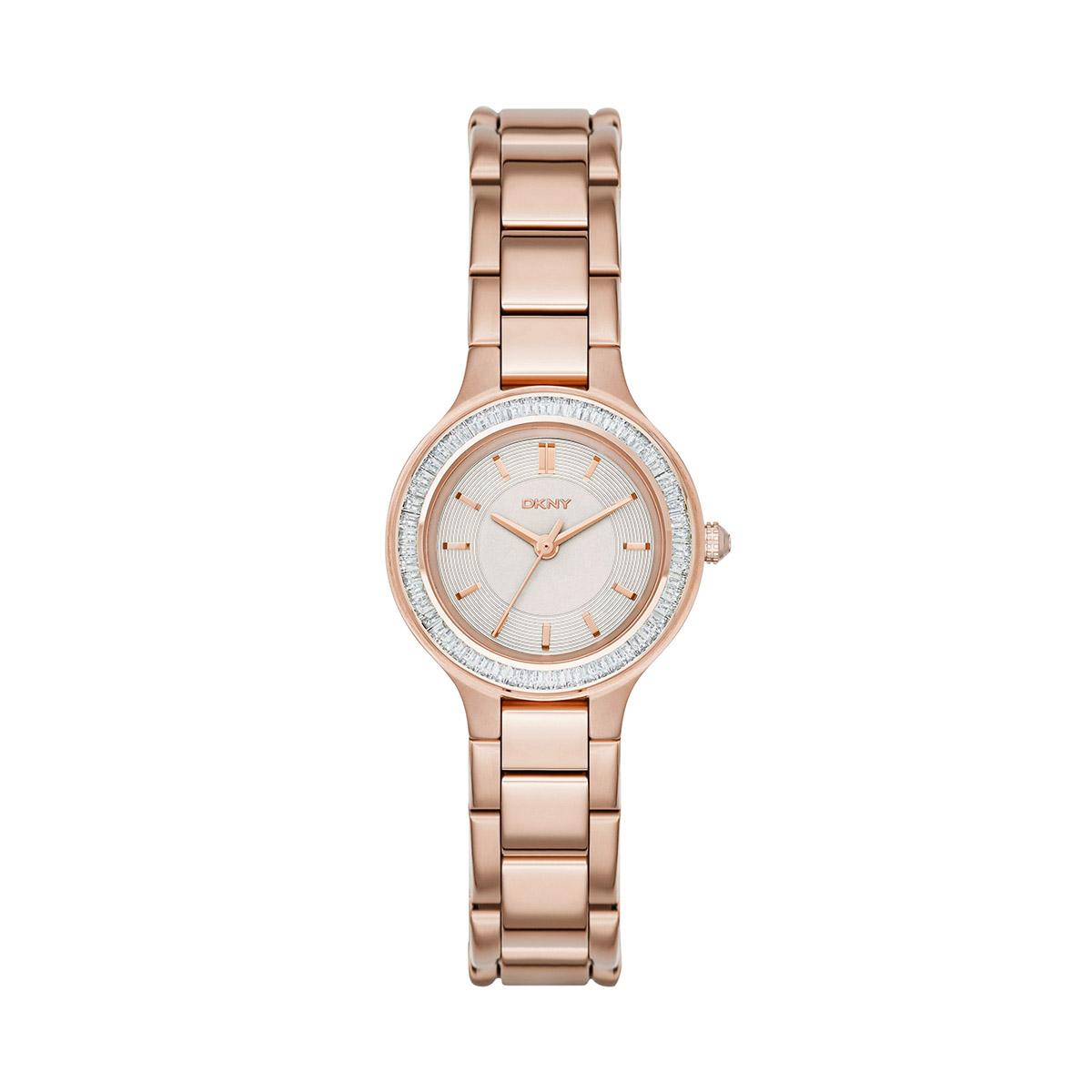 Karóra DKNY - Chambers NY2393 Rose Gold Rose Gold - Glami.hu cfd923f235