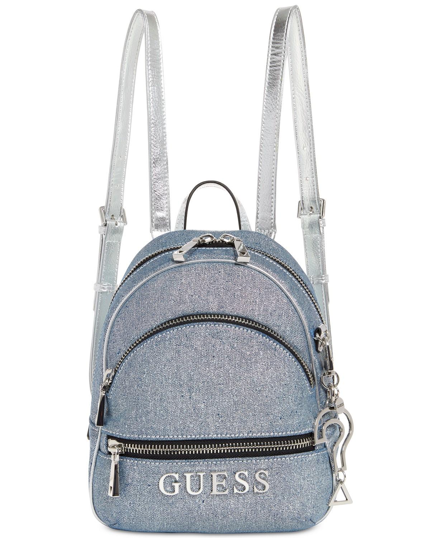 31a77ac38 Dámský batoh Guess Manhattan Mini Backpack - Glami.cz