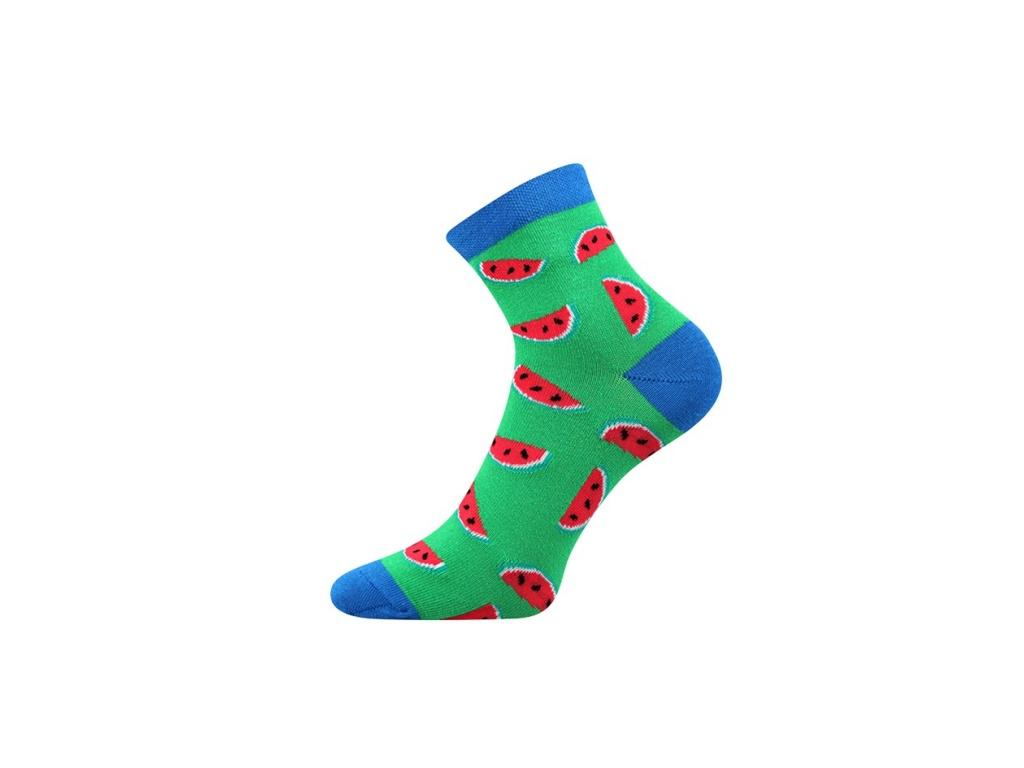 Lonka Zelené pánské ponožky MELOUN - Glami.cz f8a00e16aa