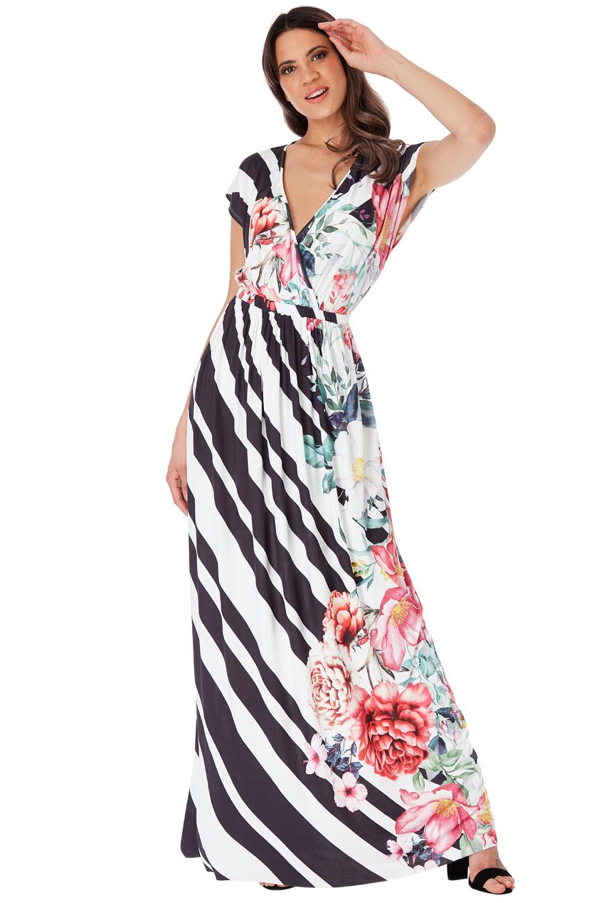 89915f42a93 ... CITYGODDESS Společenské šaty Floral černé. -100 Kč CITYGODDESS  Společenské ...