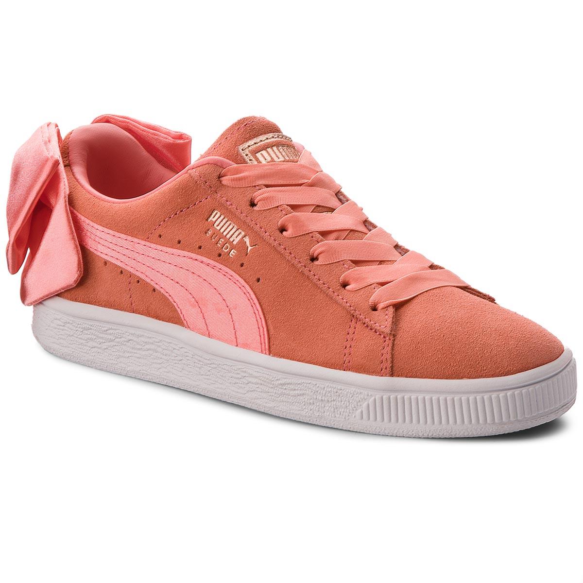 13825794db Sportcipő PUMA - Suede Bow Jr 367316 01 Shell Pink/Shell Pink - Glami.hu