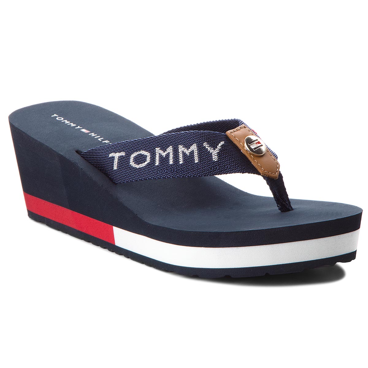 ... TOMMY HILFIGER - Corporate Beach Sandal FW0FW02958 Midnight 403. -16%.  Žabky ... ff99a84977