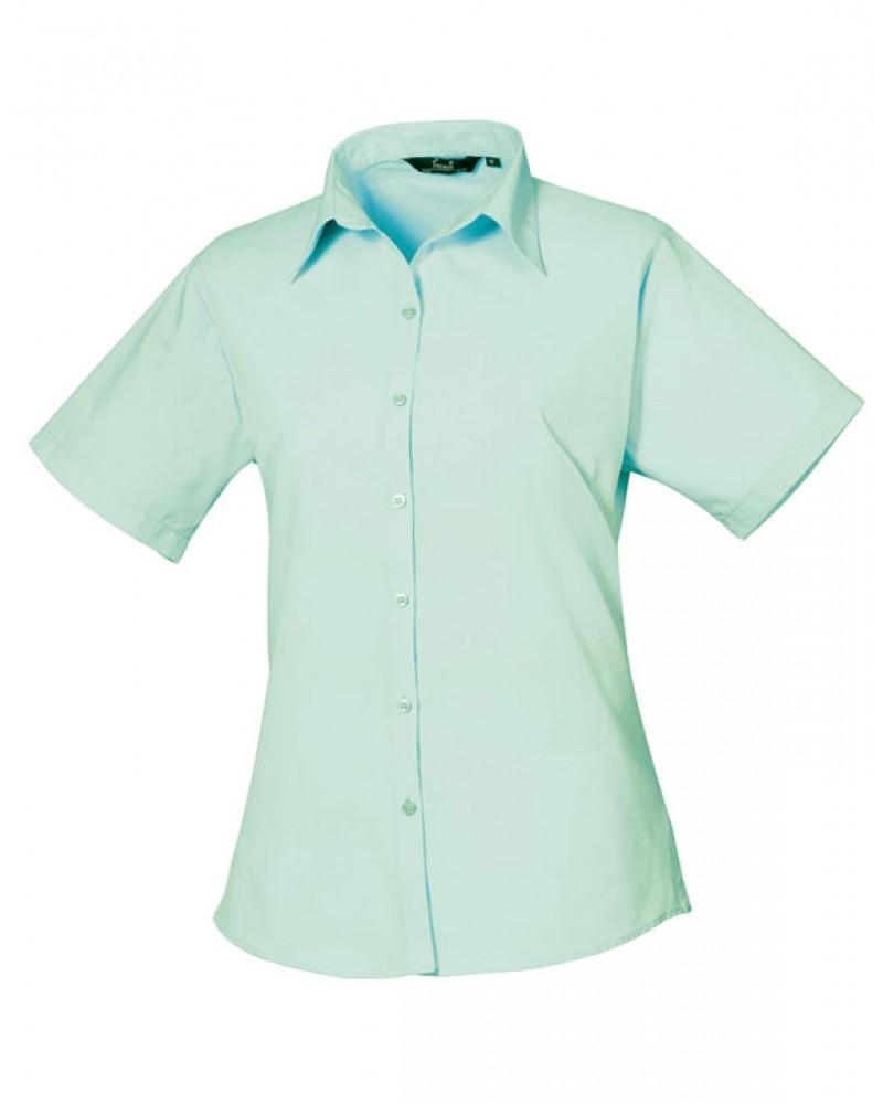Dámská košile s krátkým rukávem Premier Workwear PR302 - Glami.cz 11c9482253