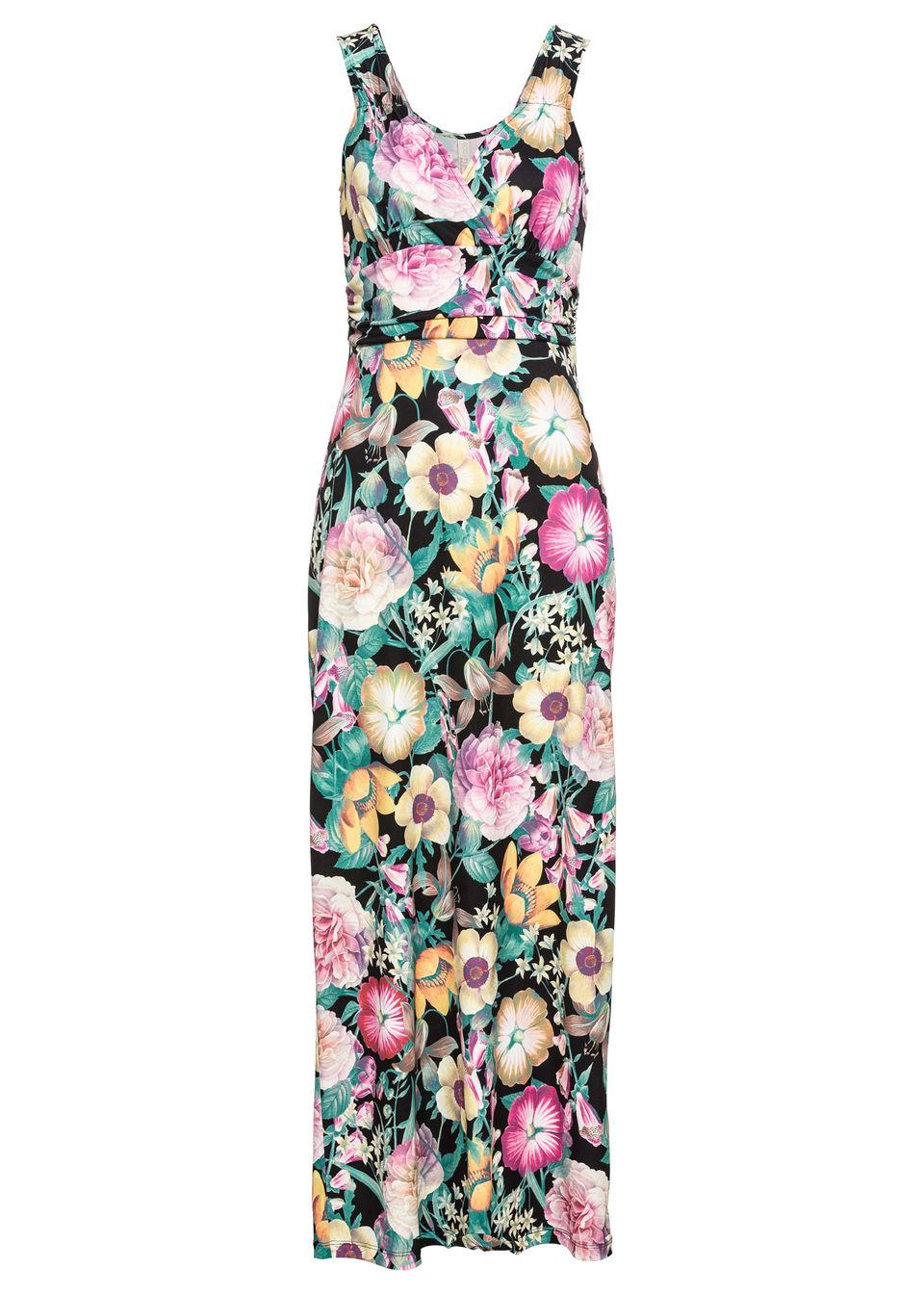 1b8ed79c129c Bonprix Letné šaty s kvetovanou potlačou - Glami.sk
