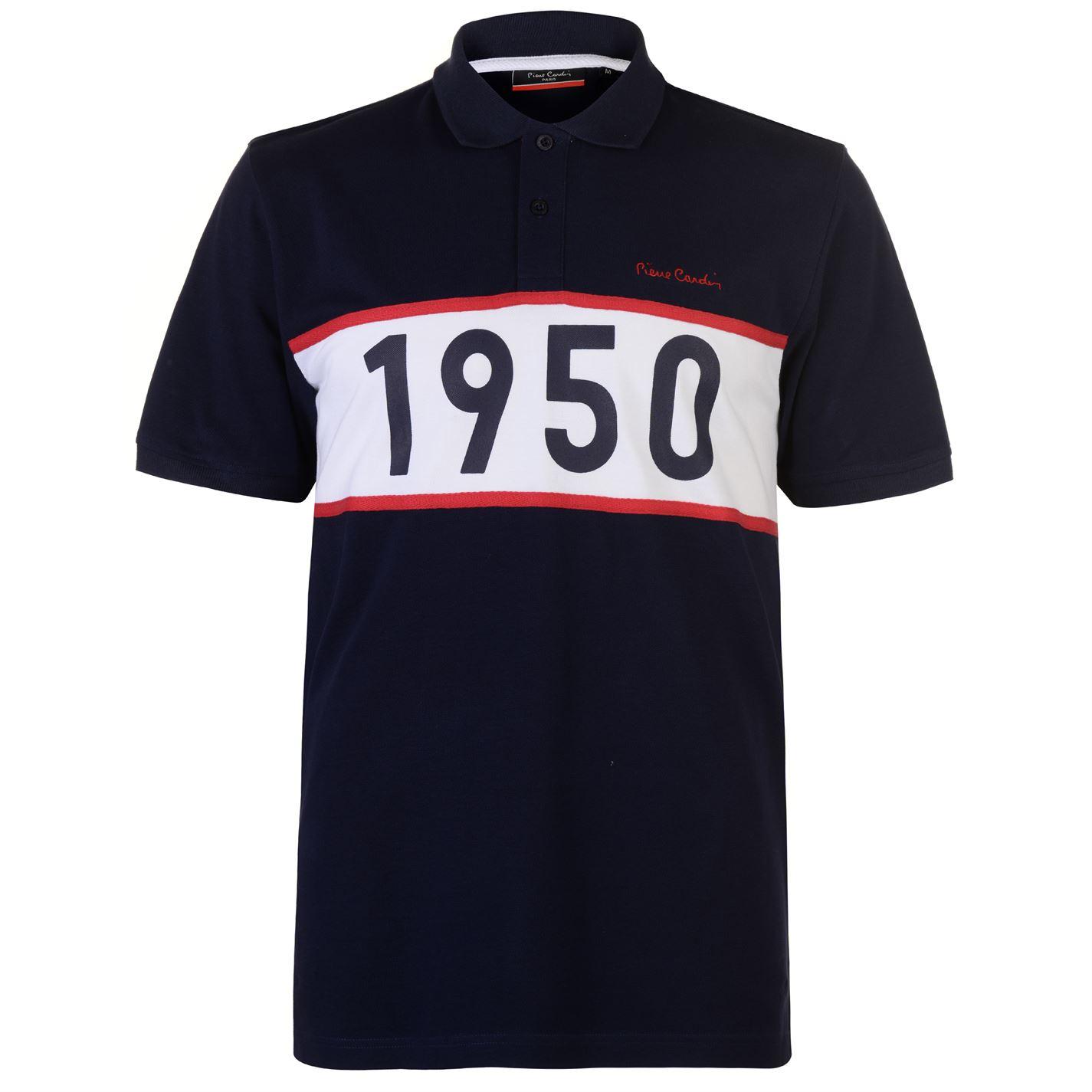 e43f3e367 ... Cardin 1950 Polo Shirt Mens Navy. -8%. Pierre ...