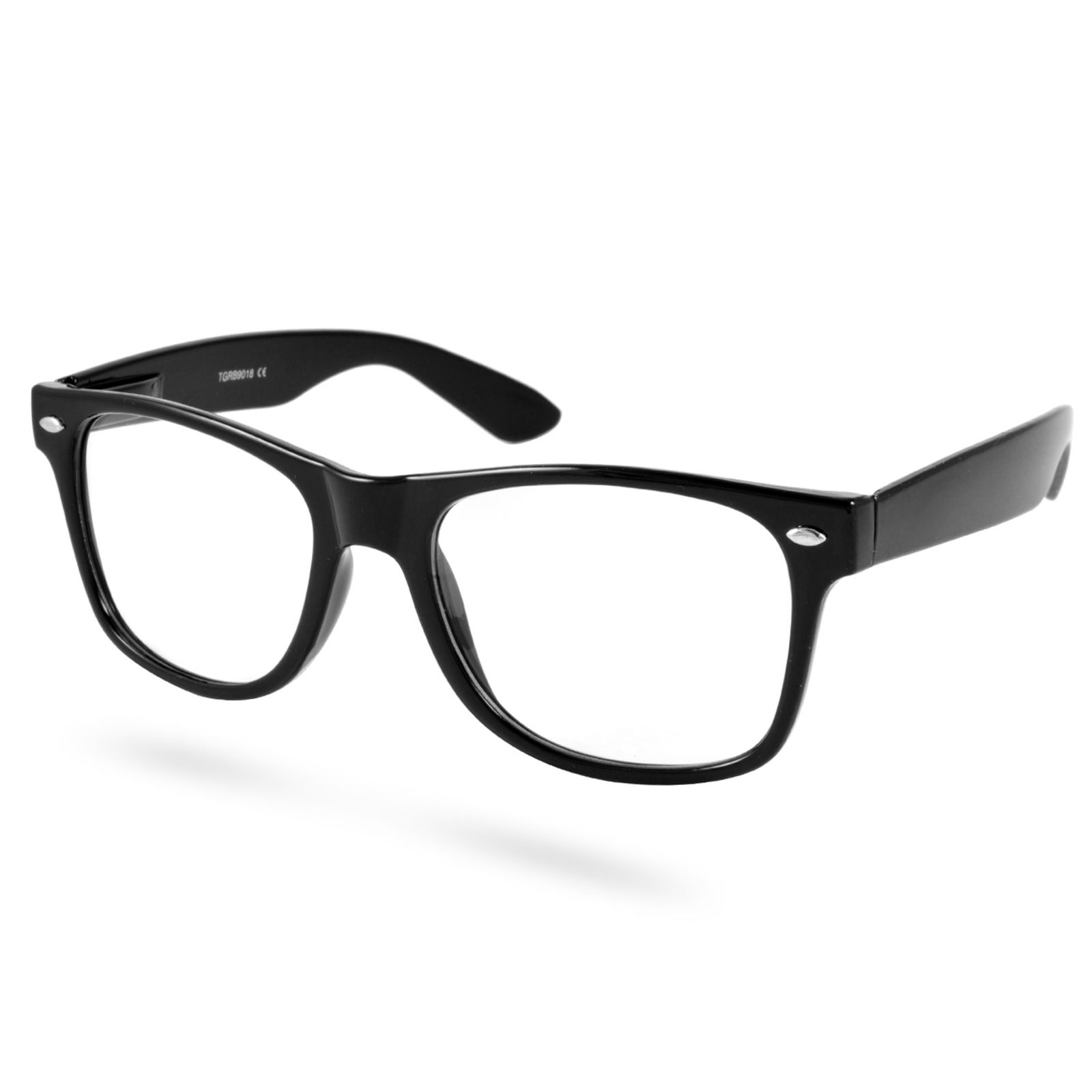 EverShade Čierne retro okuliare s čírymi sklami - Glami.sk 82469df98e4