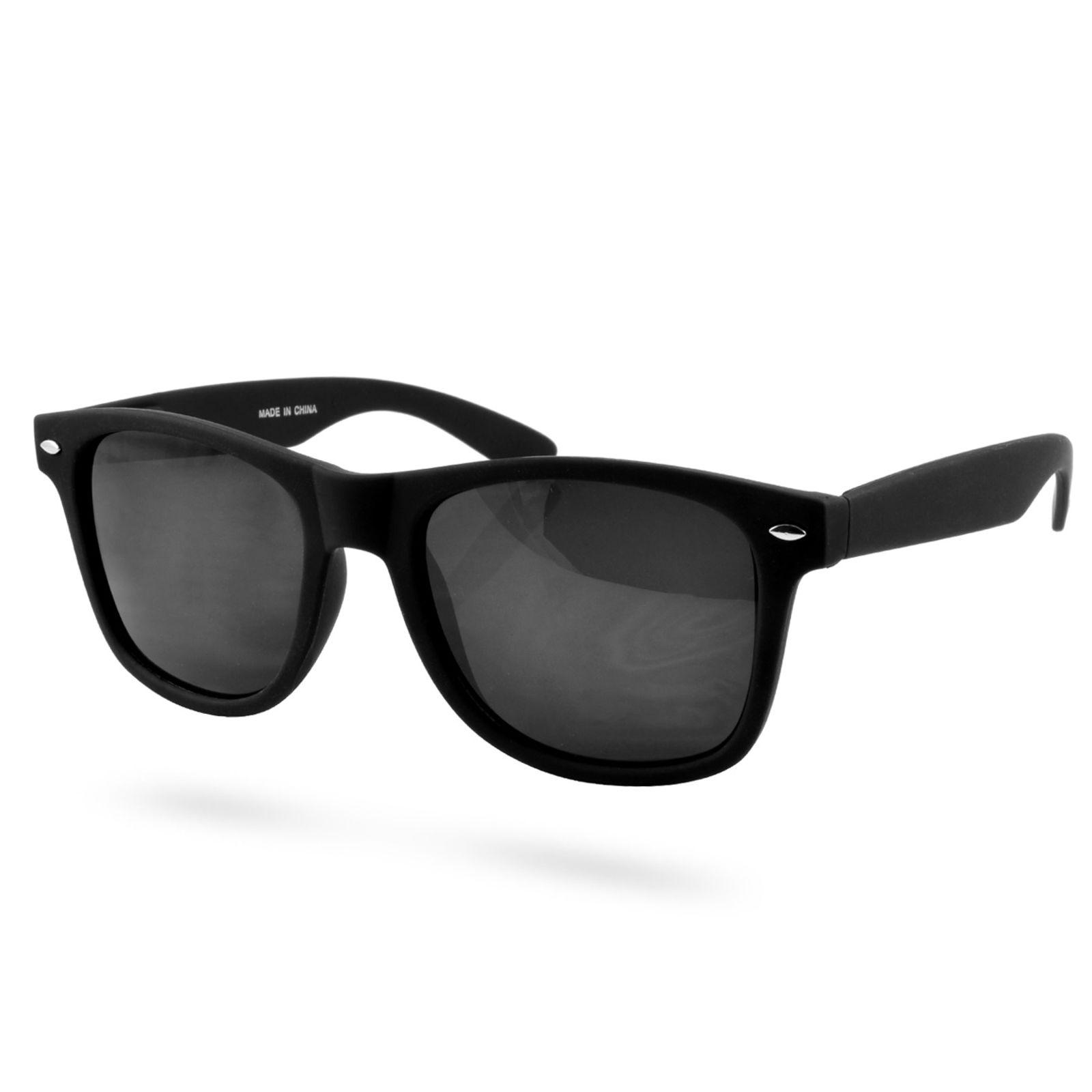 EverShade Matné čierne retro slnečné okuliare - Glami.sk a20887a3e75