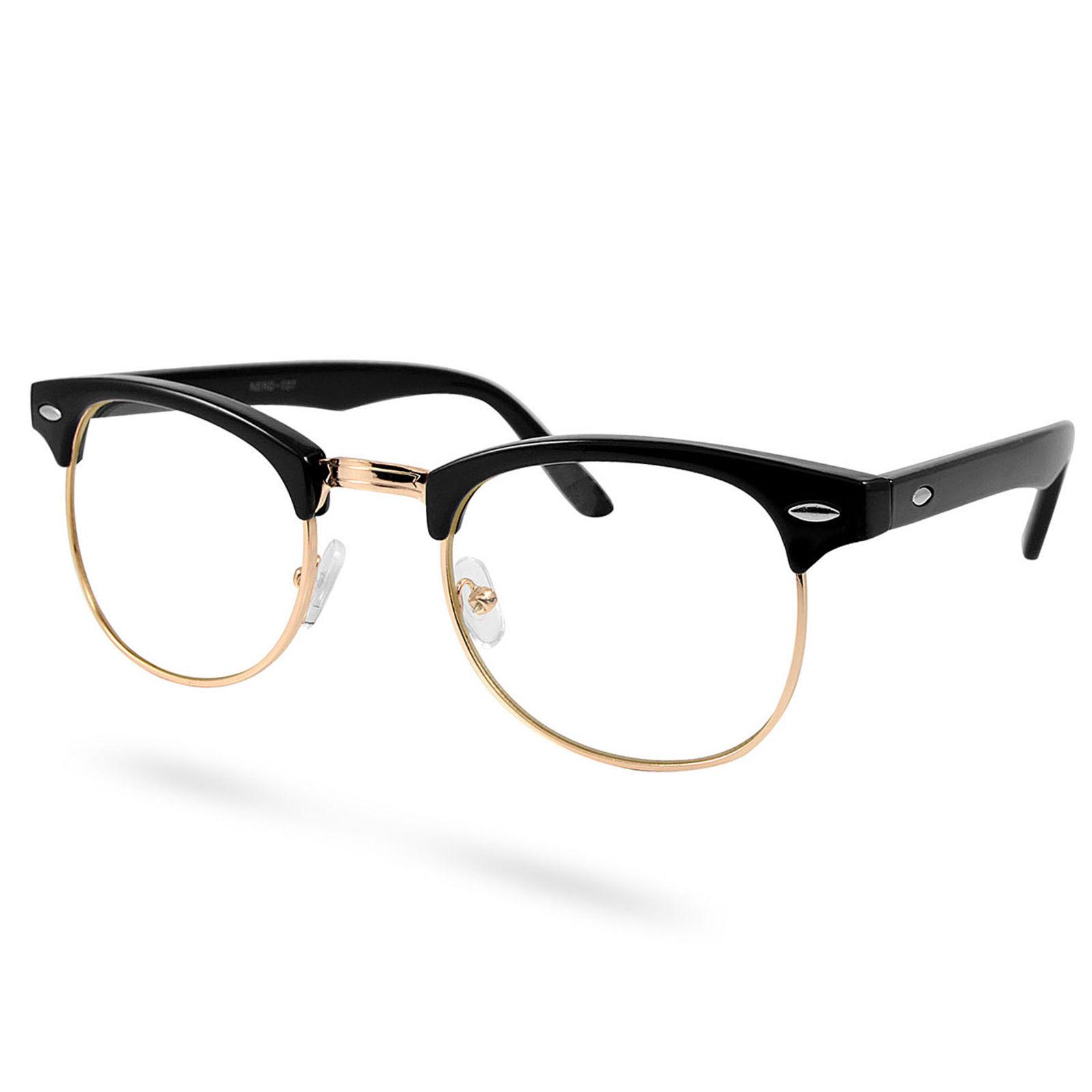 3301054d7 EverShade Čierno-zlaté vintage okuliare s čírymi šošovkami - Glami.sk