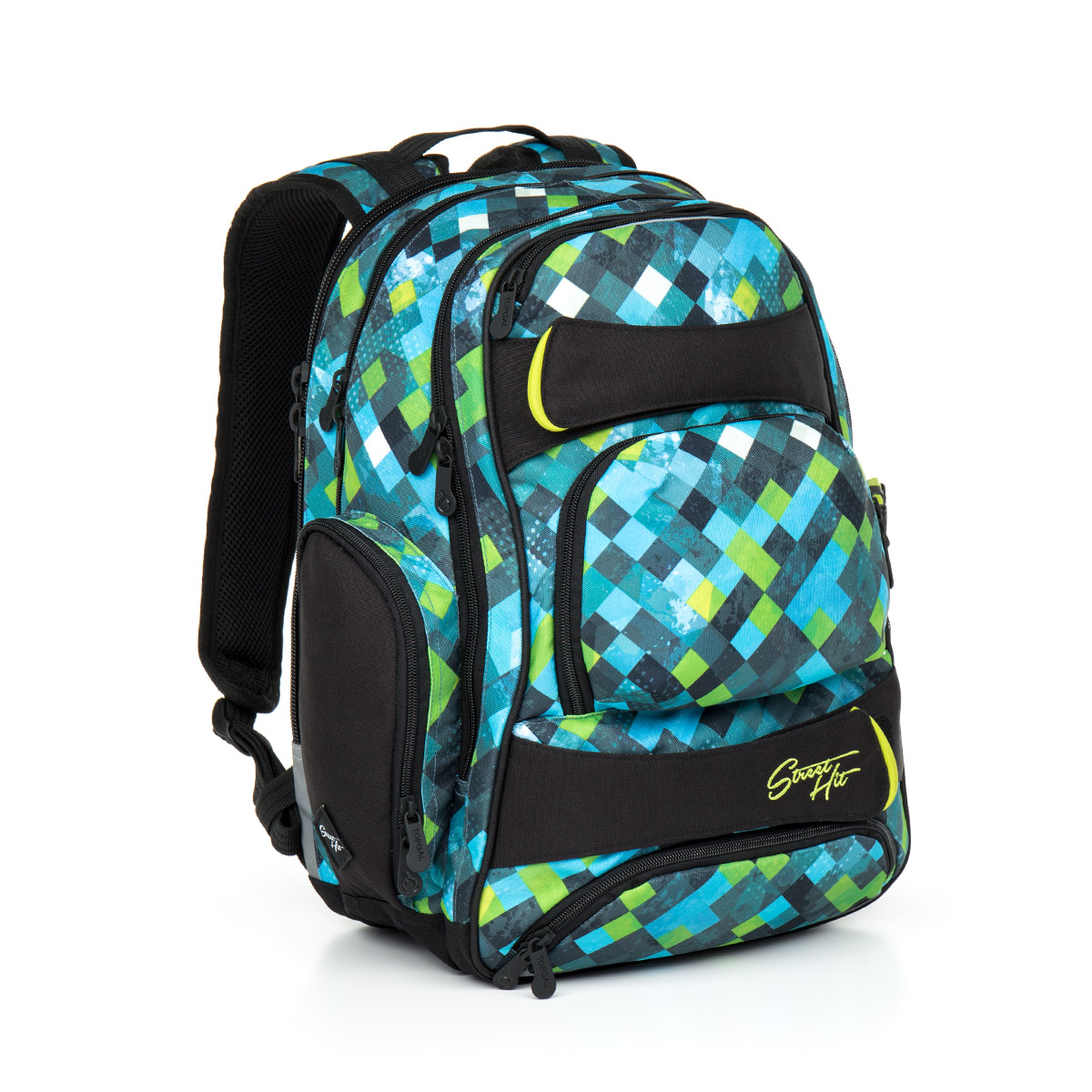 Topgal Studentský batoh HIT 869 E - Green - Glami.cz 8e838d04c0