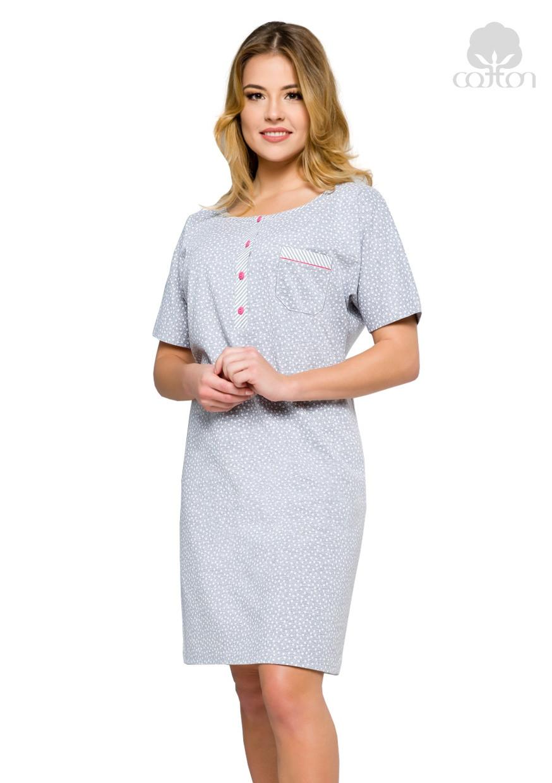 Dámská noční košile 315 se vzorem kvítků Regina - Glami.cz ba8e86bd52