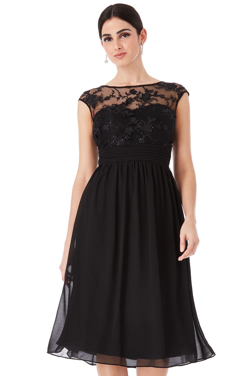 72948e4eecc CITYGODDESS Společenské šaty Divine krátké černé - Glami.cz