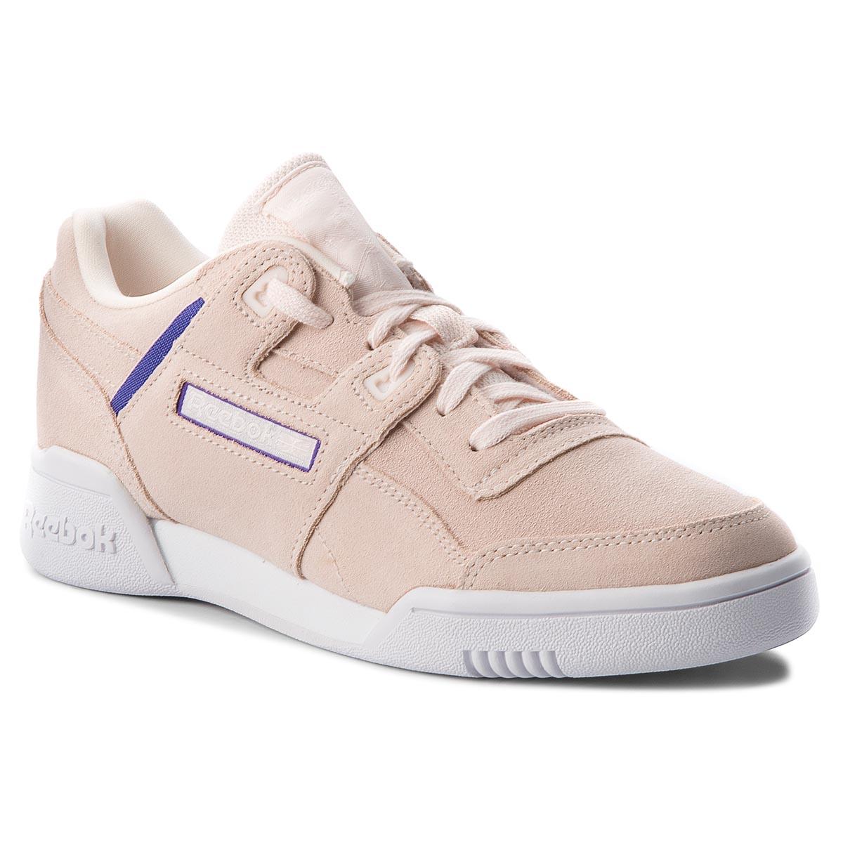 4b18f3408cb Boty Reebok - Workout Lo Plus CN5524 Pale Pink Purple White - Glami.cz