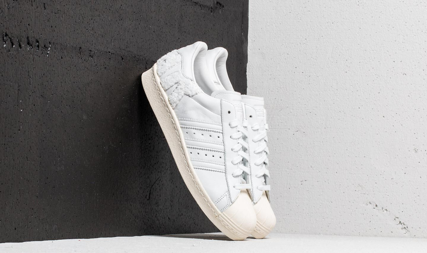 hot sales 97f1c e6068 adidas Originals adidas Superstar 80s Crystal White Crystal White Off  White