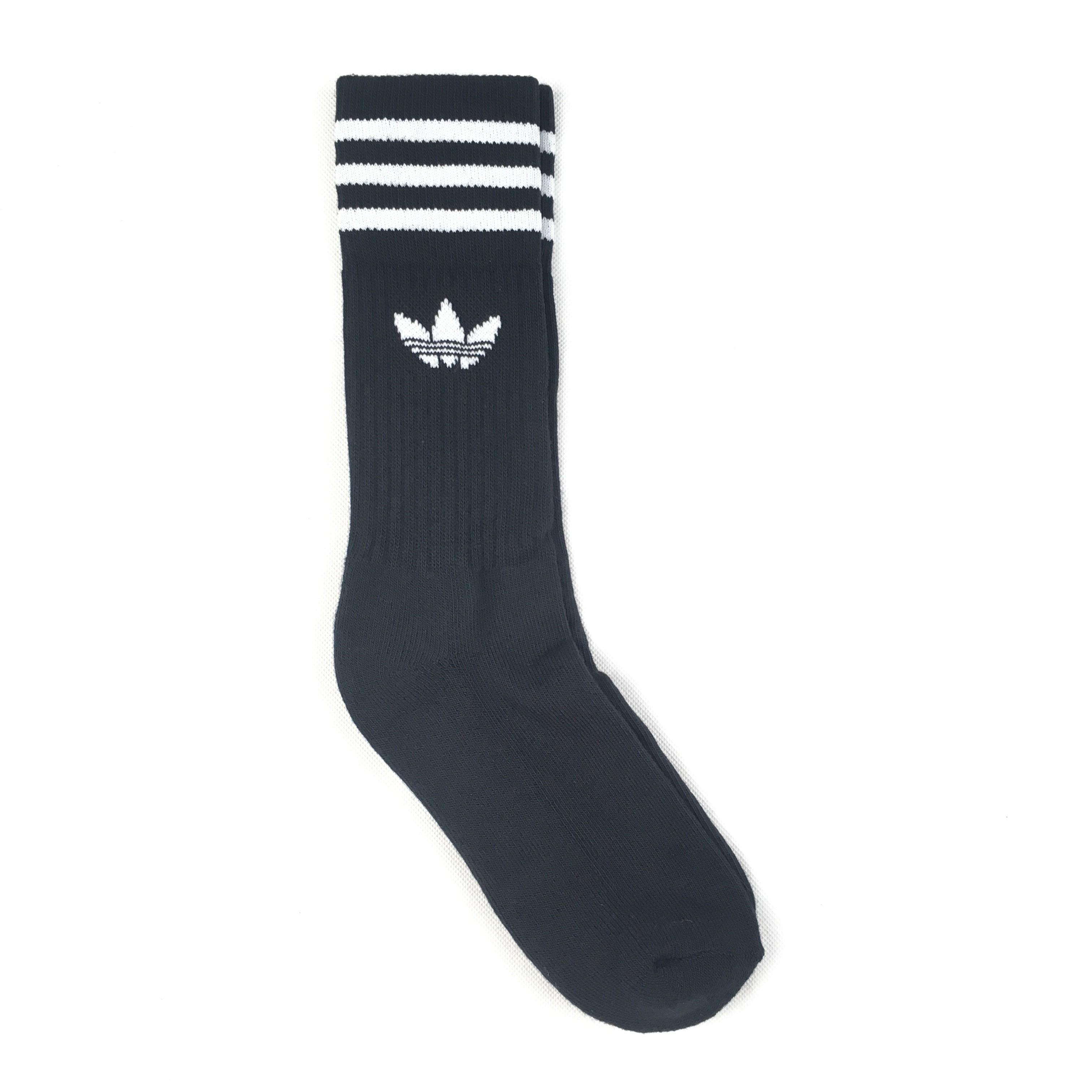 f17bbfec872 Ponožky adidas Originals Crew Černé 39-42 - Glami.sk