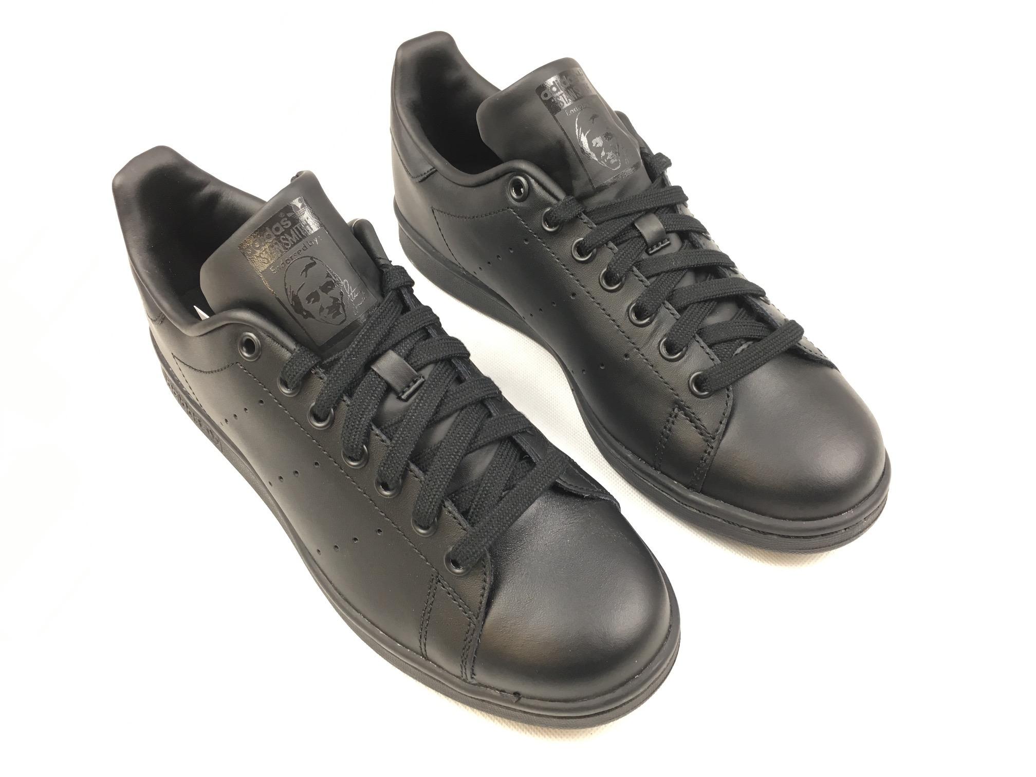 84a6b452805 Pánské boty adidas Originals Stan Smith Černé - Glami.cz