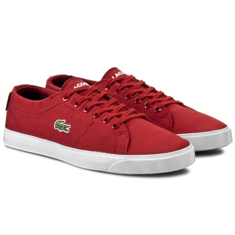 fe38d42e970 Dámské boty Lacoste Riberac Červené - Glami.cz