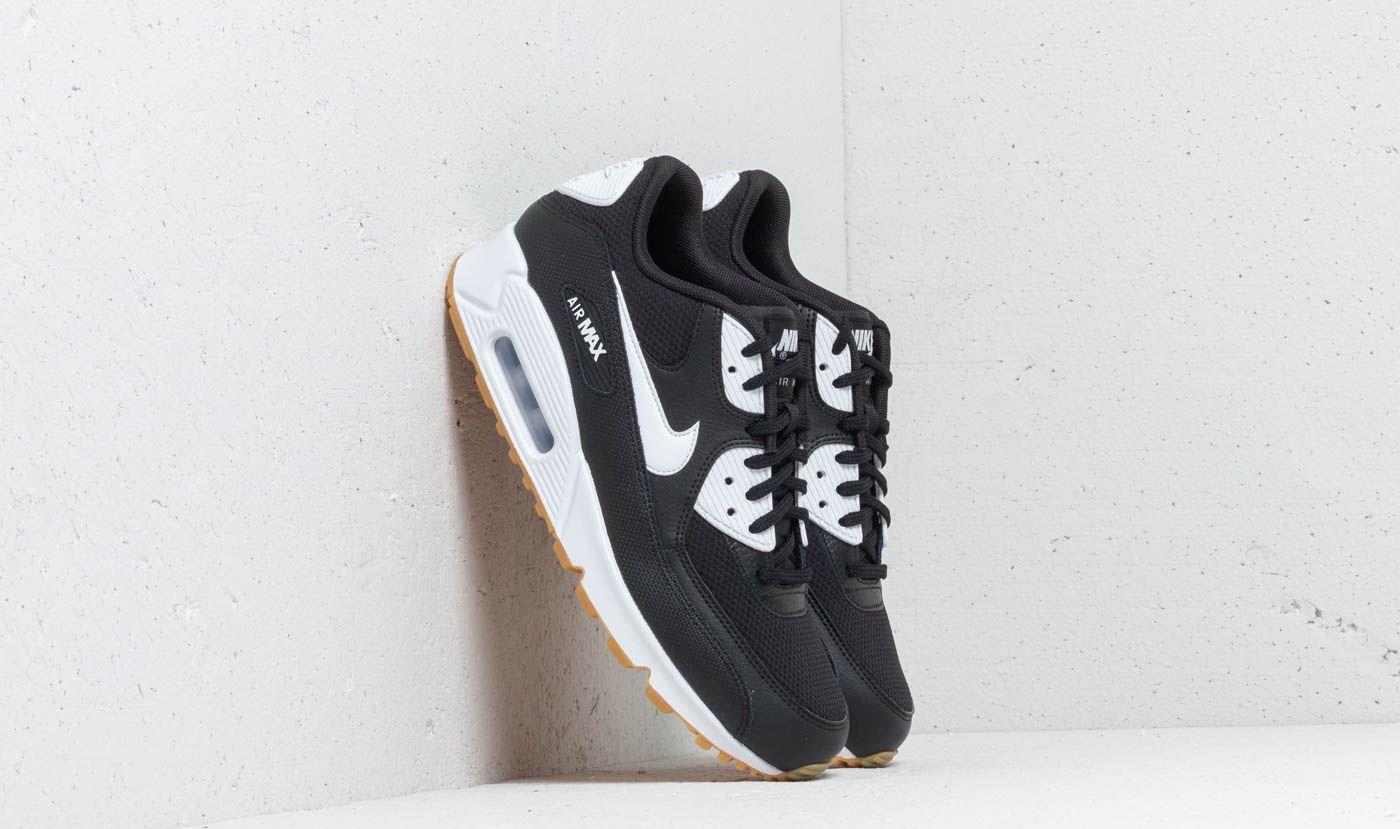 Nike Wmns Air Max 90 Black  White-Gum Light Brown - Glami.sk a6851741e20