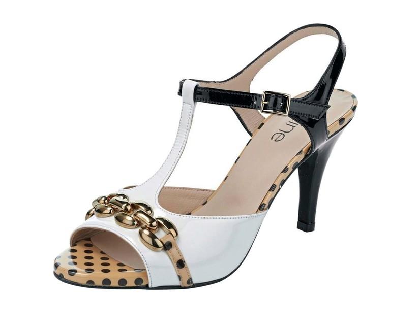 18282b0142 Extravagantné kožené sandálky Heine - Glami.sk