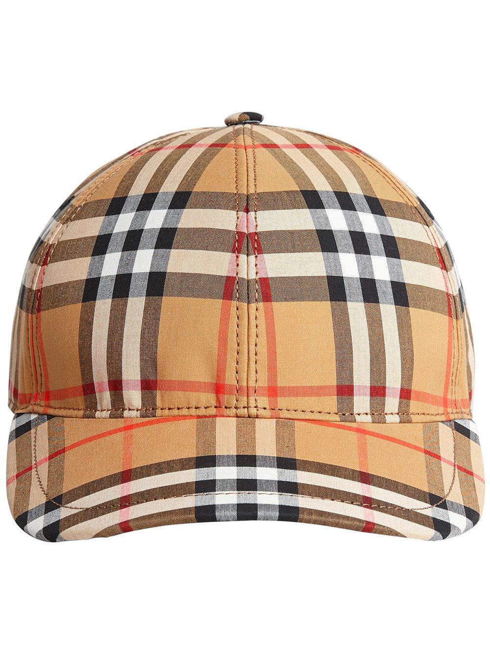 Burberry Vintage Check Baseball Cap - Neutrals - Glami.cz fa2e4123fc