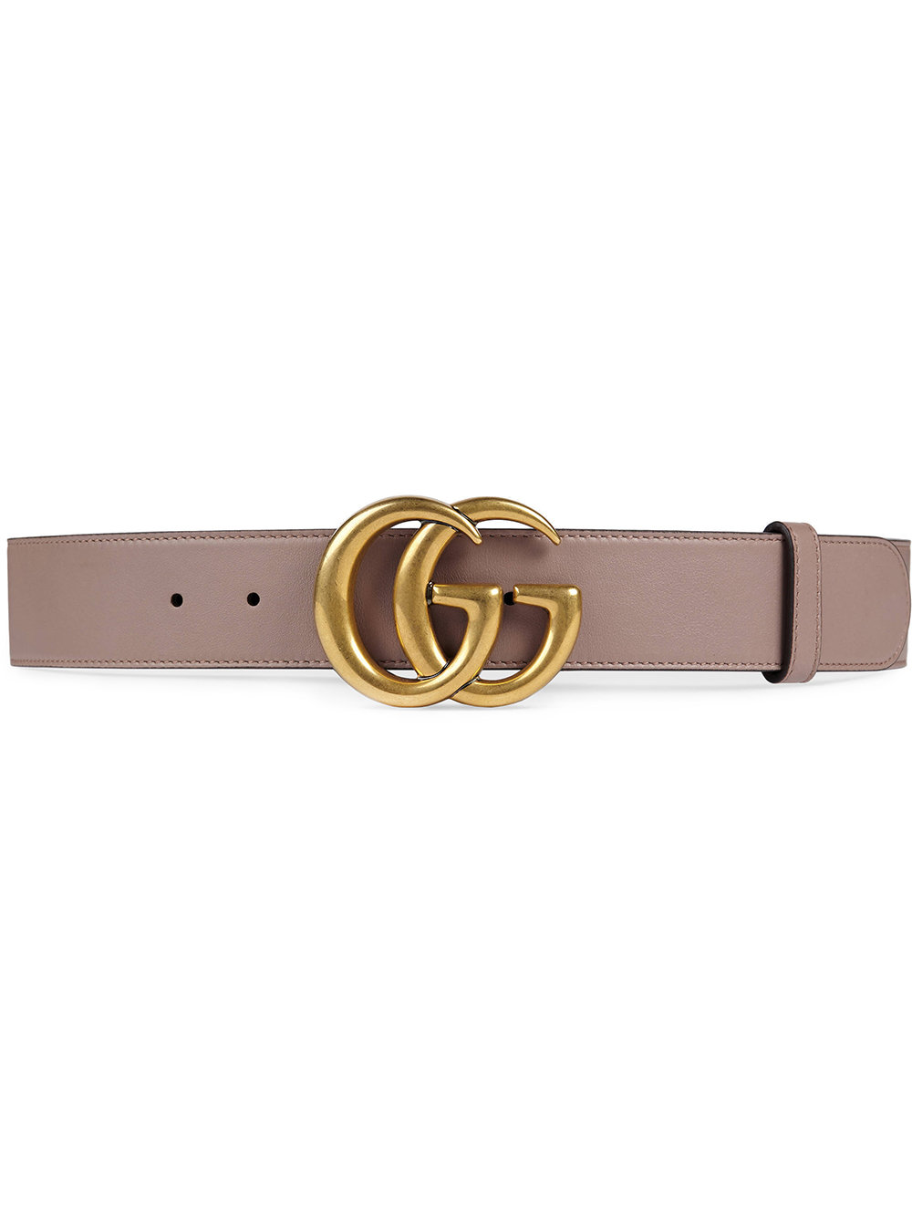 4f591a7206 Gucci Leather belt with Double G buckle - Pink - Glami.sk