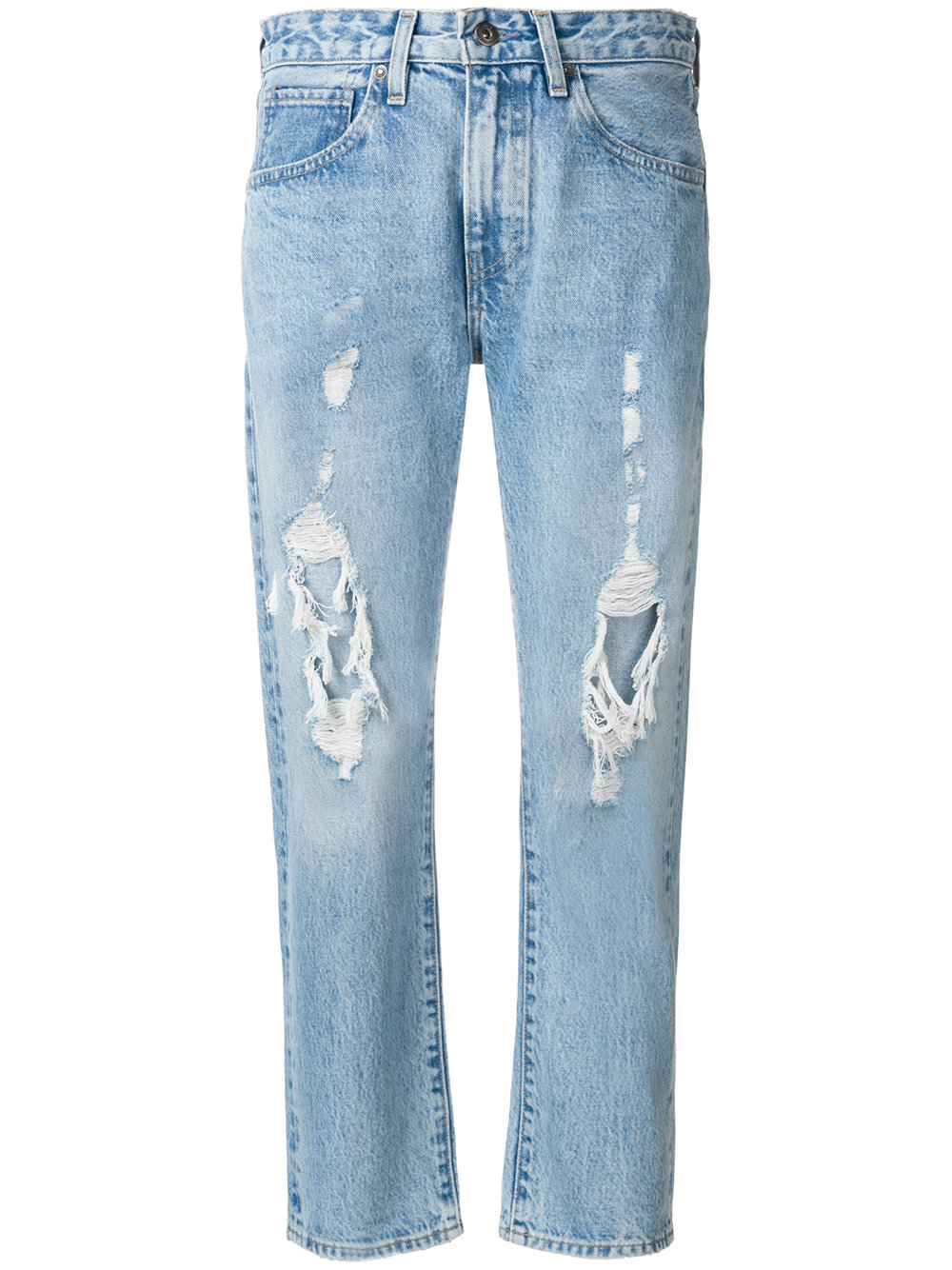 11c9b81ec38 Levi s  Made   Crafted destroyed cropped jeans - Blue - Glami.cz