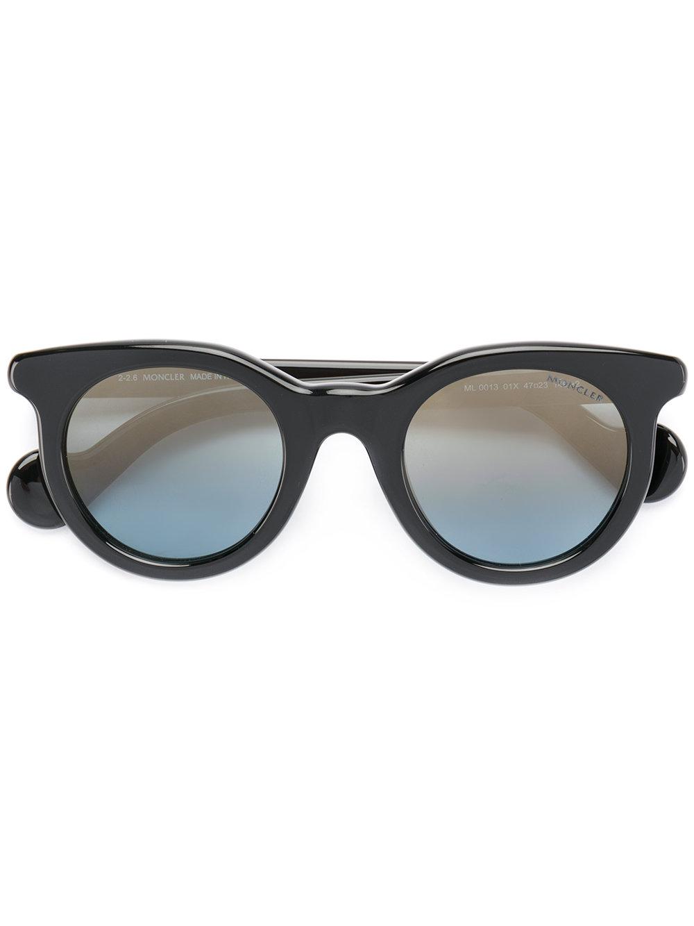 Moncler Eyewear round-frame sunglasses - Black - Glami.hu d875f255fb