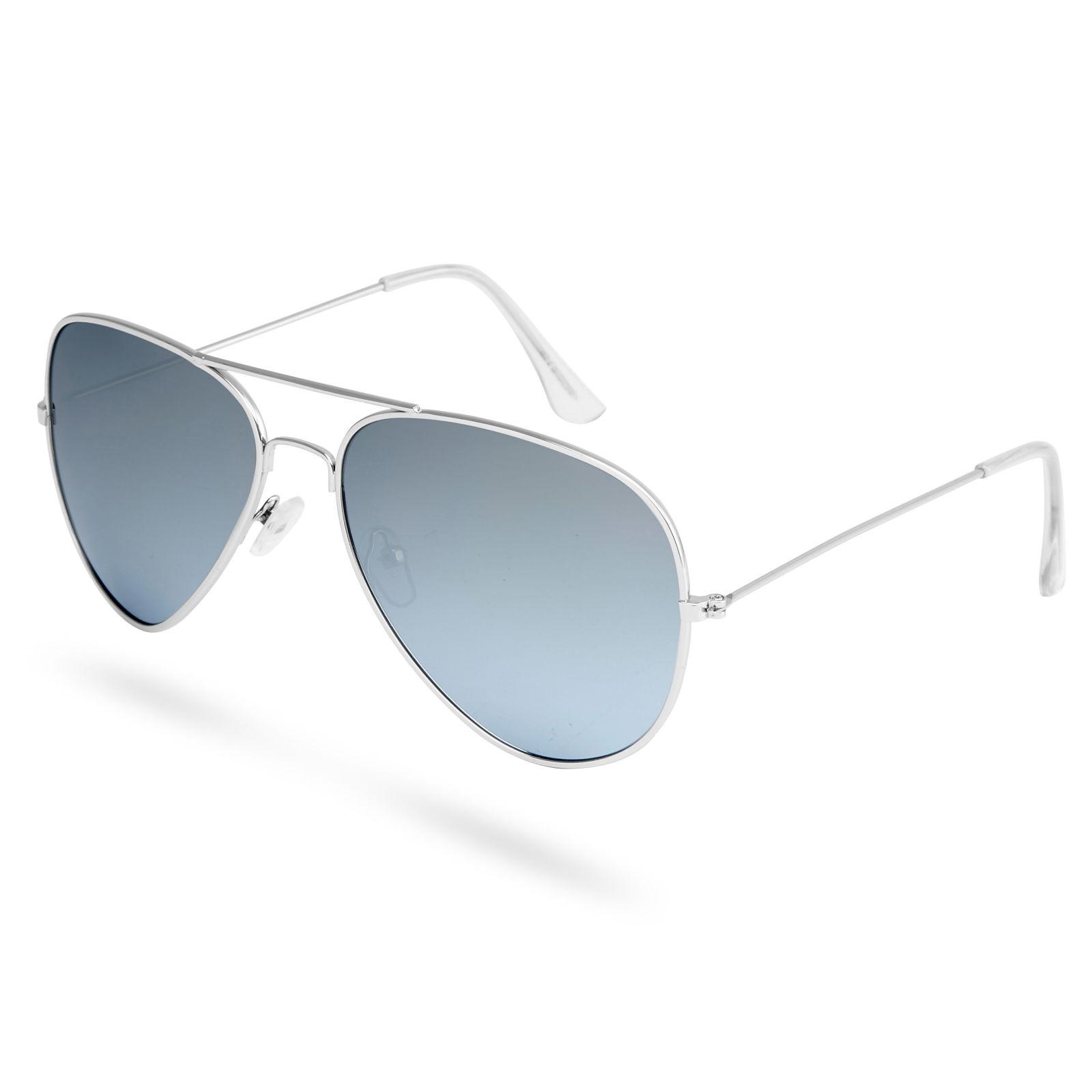 Paul Riley Aviator strieborné zrkadlové polarizačné okuliare - Glami.sk c5a537e404b