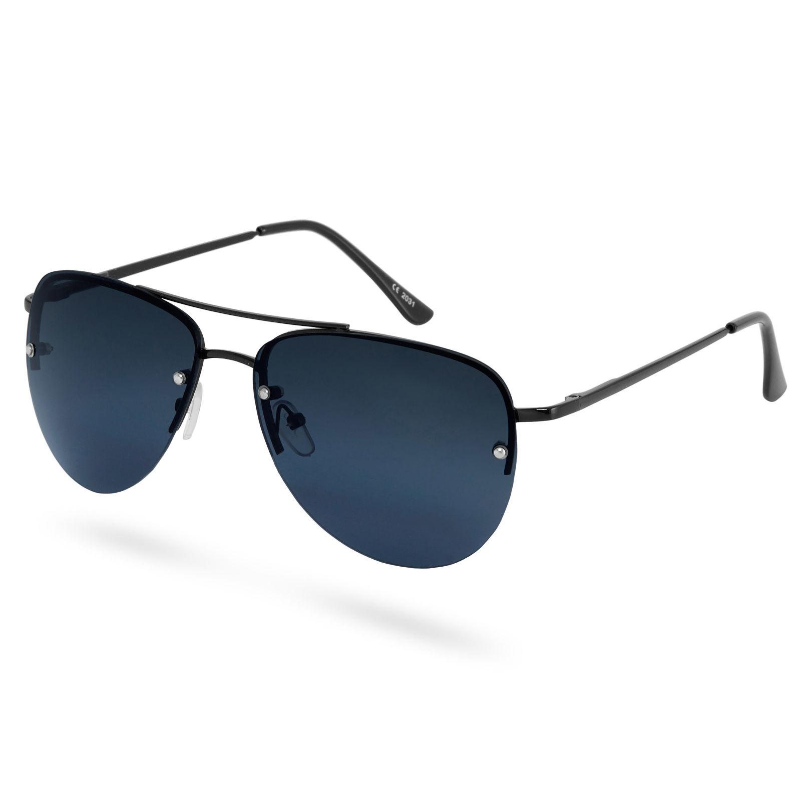 Paul Riley Čierne dymové slnečné okuliare Aviator Total - Glami.sk 7c1391af468