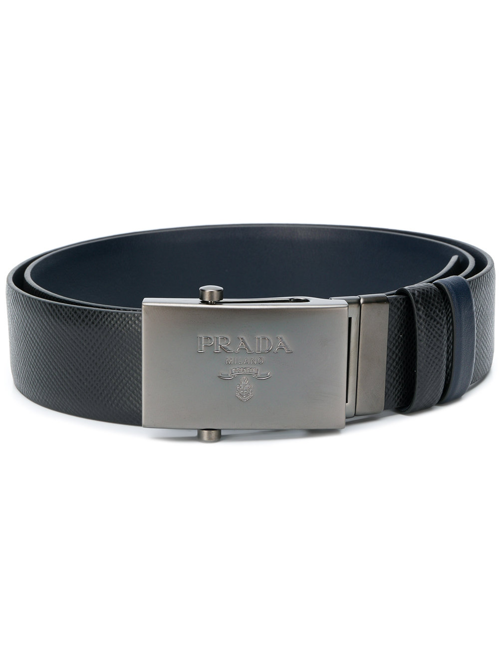 Prada logo plaque buckle belt - Black - Glami.sk 44799f55aa7
