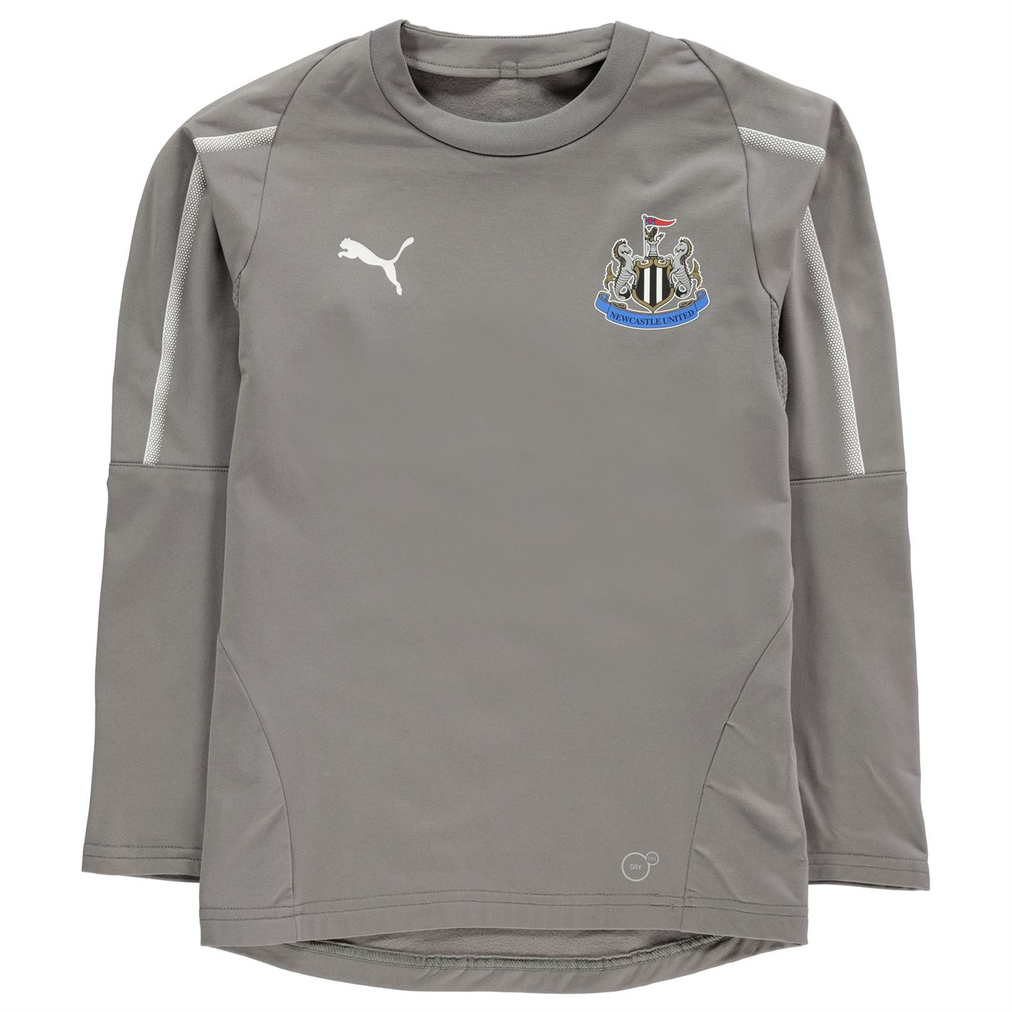 b45f4dfd5071 Puma Newcastle United Training Sweatshirt 2018 2019 Grey. Puma Newcastle  United Training Sweatshirt 2018 2019 Grey