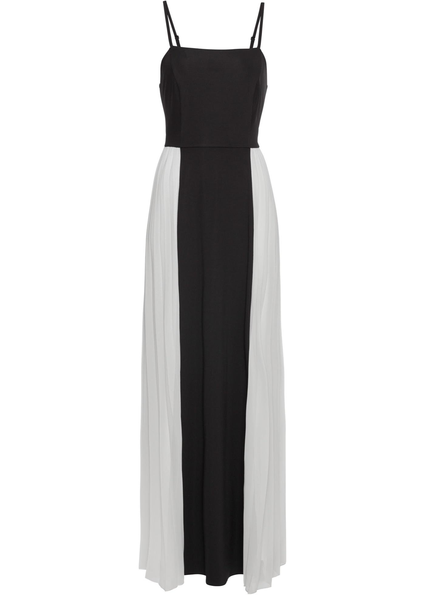 BODYFLIRT boutique Bonprix - robe d été Robe noir sans manches pour femme 9fb46f68f679