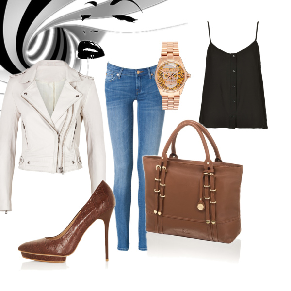 White&brown style
