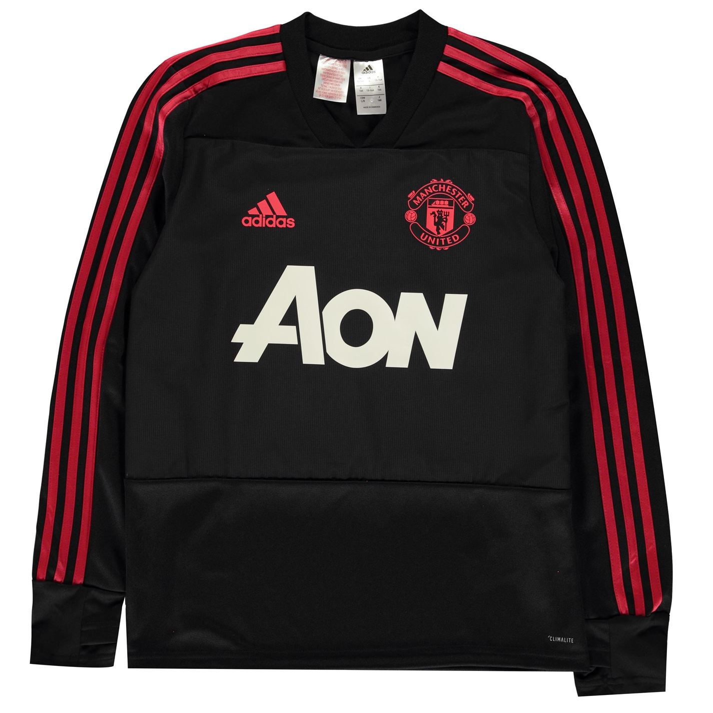 adidas Manchester United Training Top 2018 2019 Dětské - Glami.sk 15d5420618a