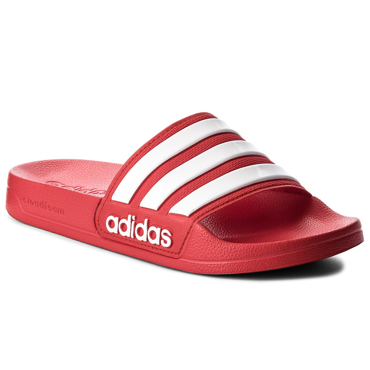 Šľapky adidas - adilette Shower AQ1705 Scarle Ftwwht Scarle - Glami.sk 51fb0386586