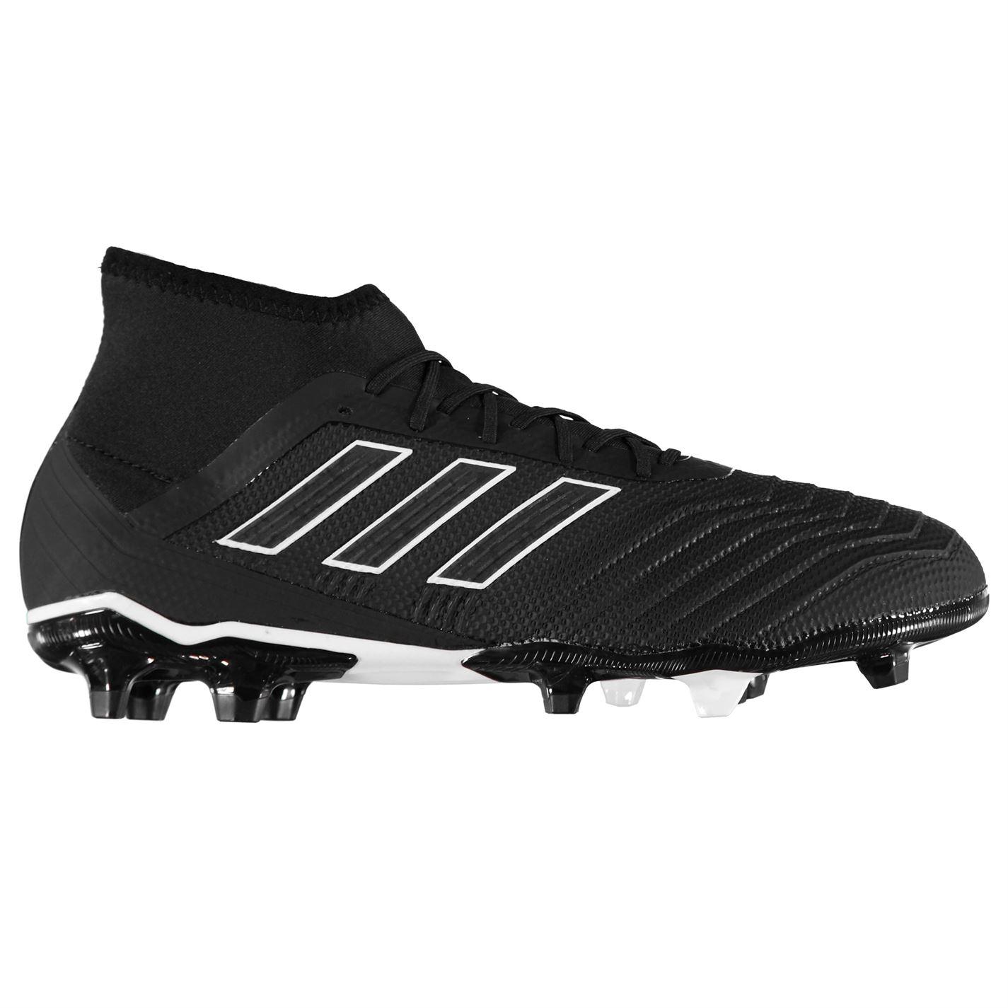kopačky adidas Predator 18.2 pánské FG Black Black - Glami.cz 45c71a05768