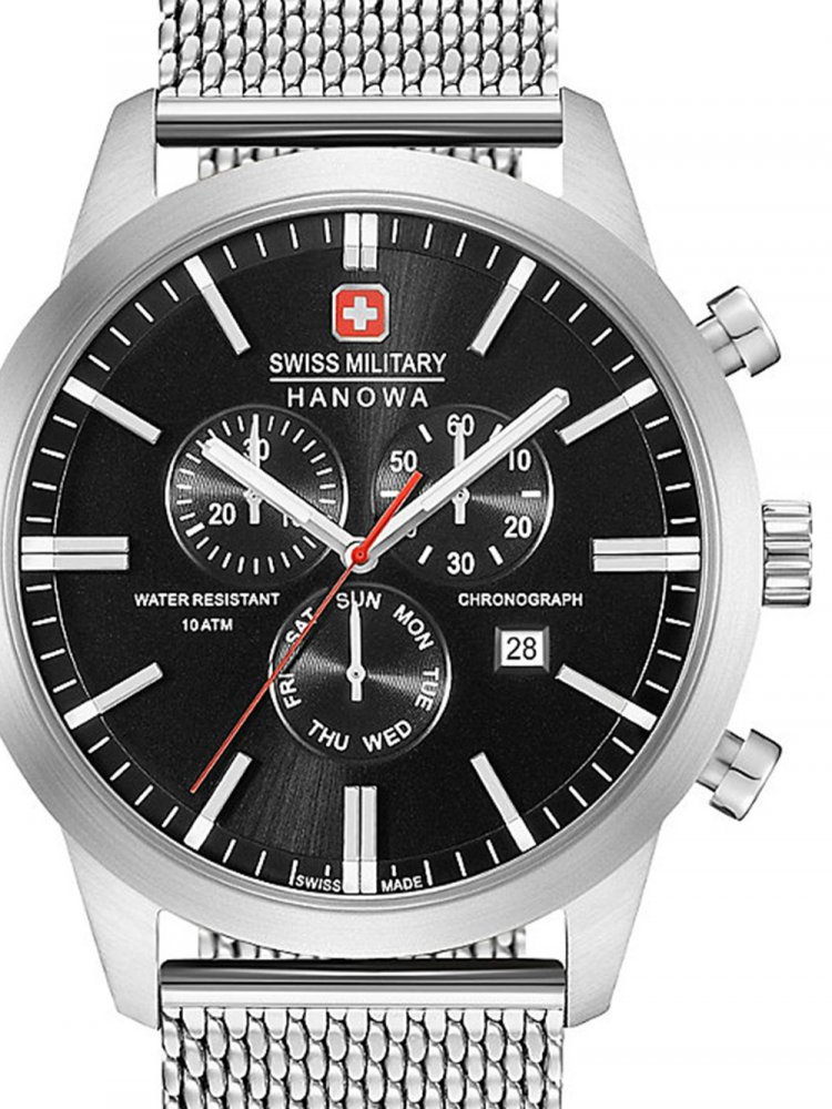 51ee016dc76 Swiss Military Hanowa 06-3308.04.007 Classic Chrono 44mm 10ATM ...