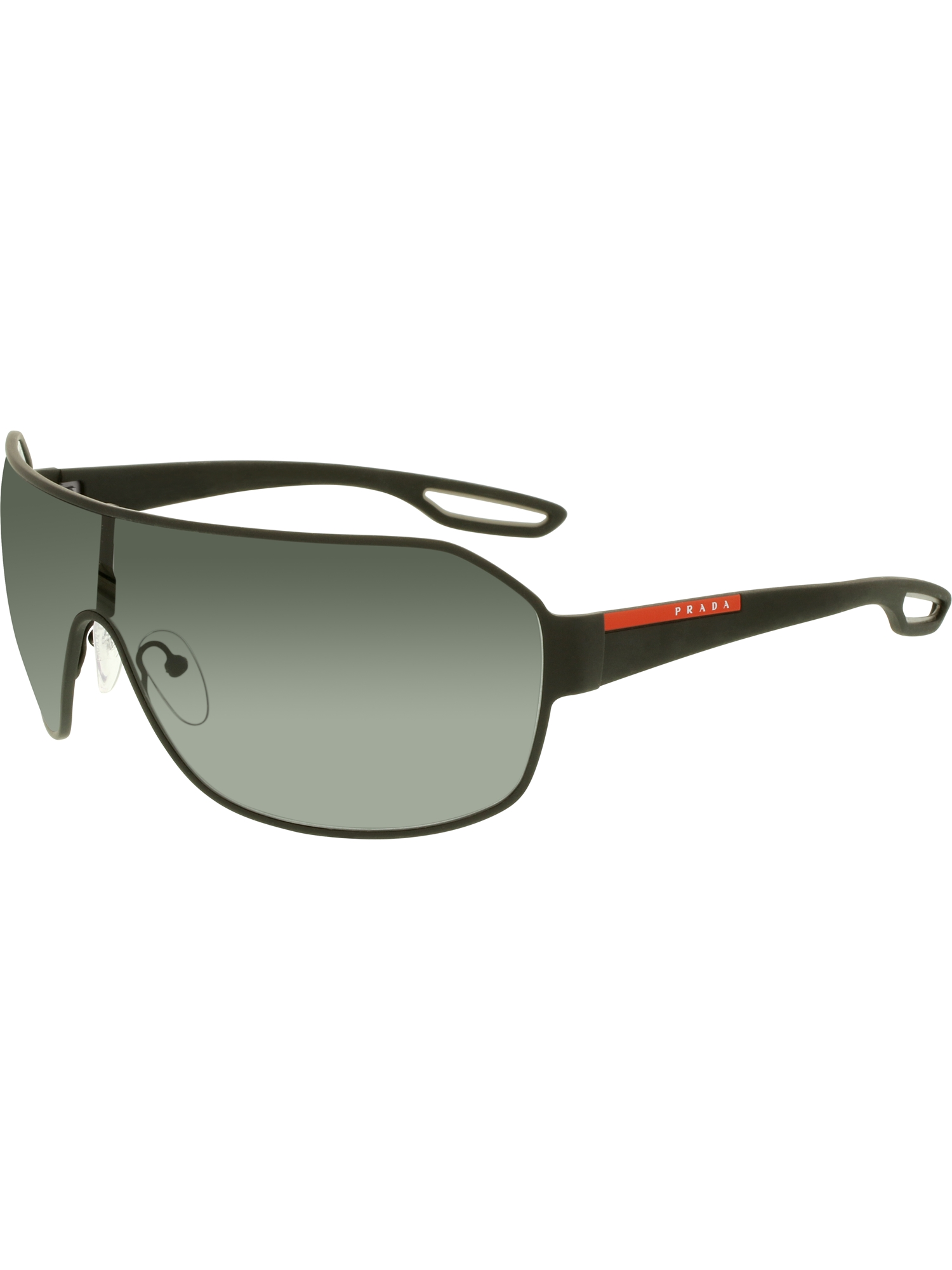 Prada Férfi Napszemüveg PS52QS-DG01A1-37 Black Shield - Glami.hu d01cb7245b