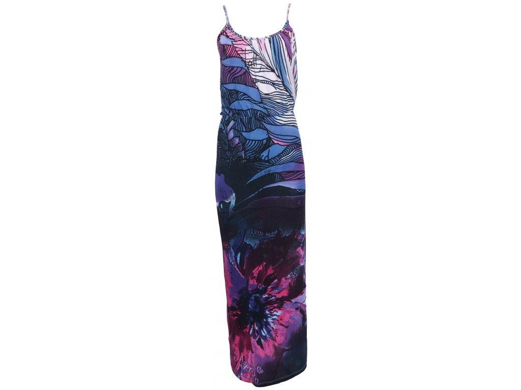 Barevné vzdušné šaty Desigual - Glami.cz 01529b59b2