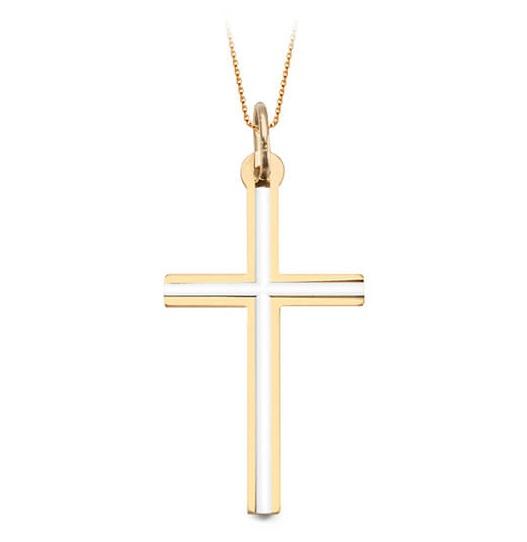 e7d8741d1 Staviori Zlatý přívěsek žluté zlato Au 0,585 Křížek - WZX5287 - Glami.cz