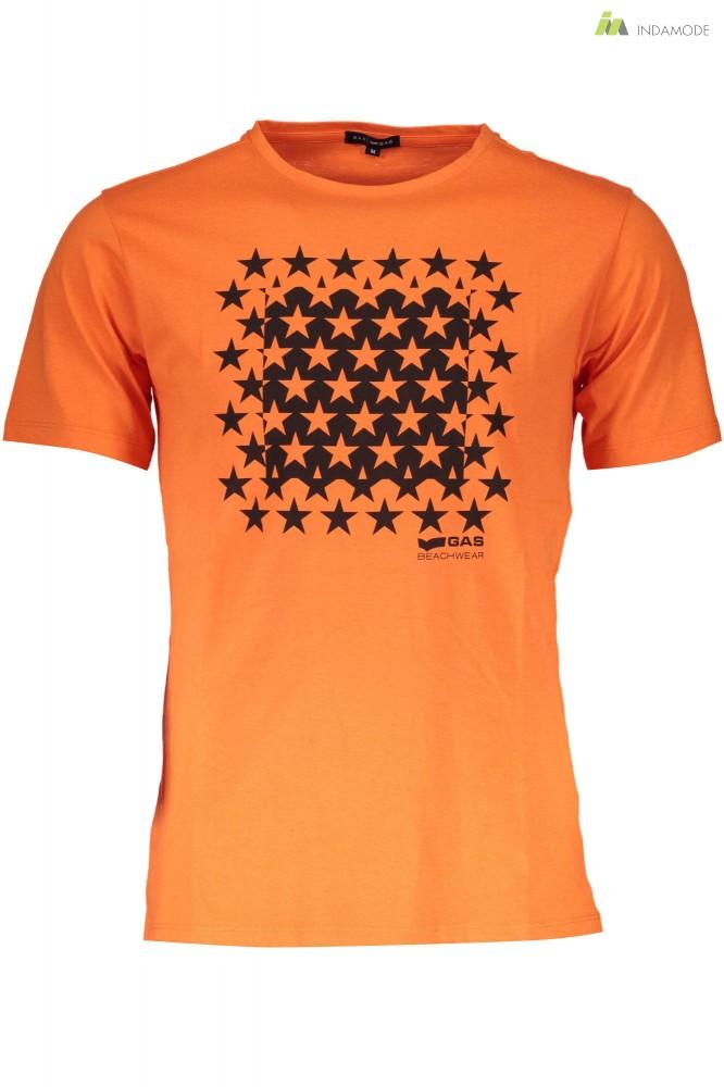 d1cc99cc94 Gas férfi narancssárga rövid ujjú póló WH2-GATS01KABOOM_AB30_2 ...