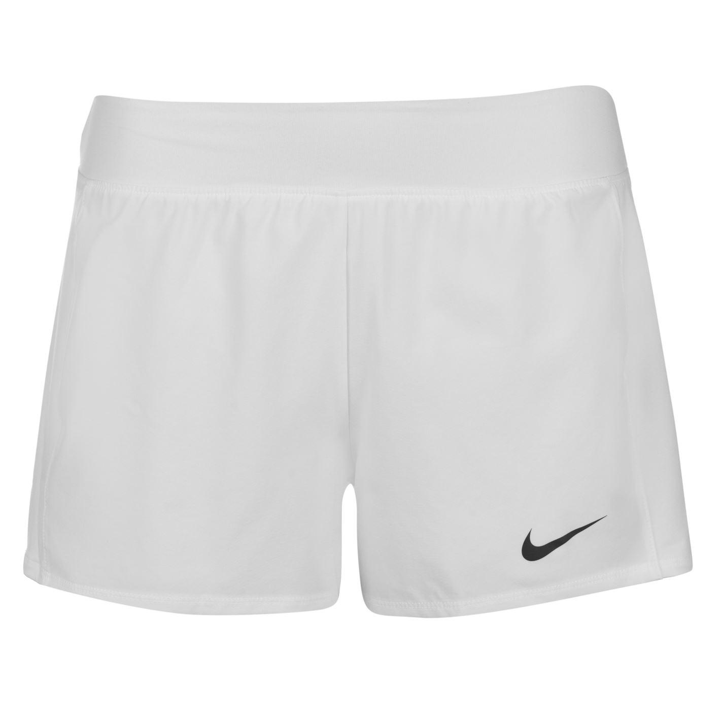 Nike Court Flex Pure Shorts Ladies White Black - Glami.cz 8b0a0a3fea