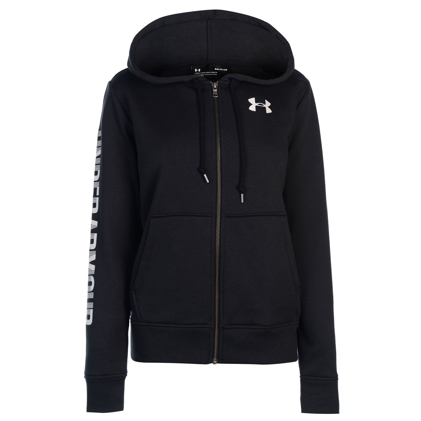 26a389d45c51 Mikina s kapucňou Under Armour Logo Fleece Zip Hoodie Ladies - Glami.sk