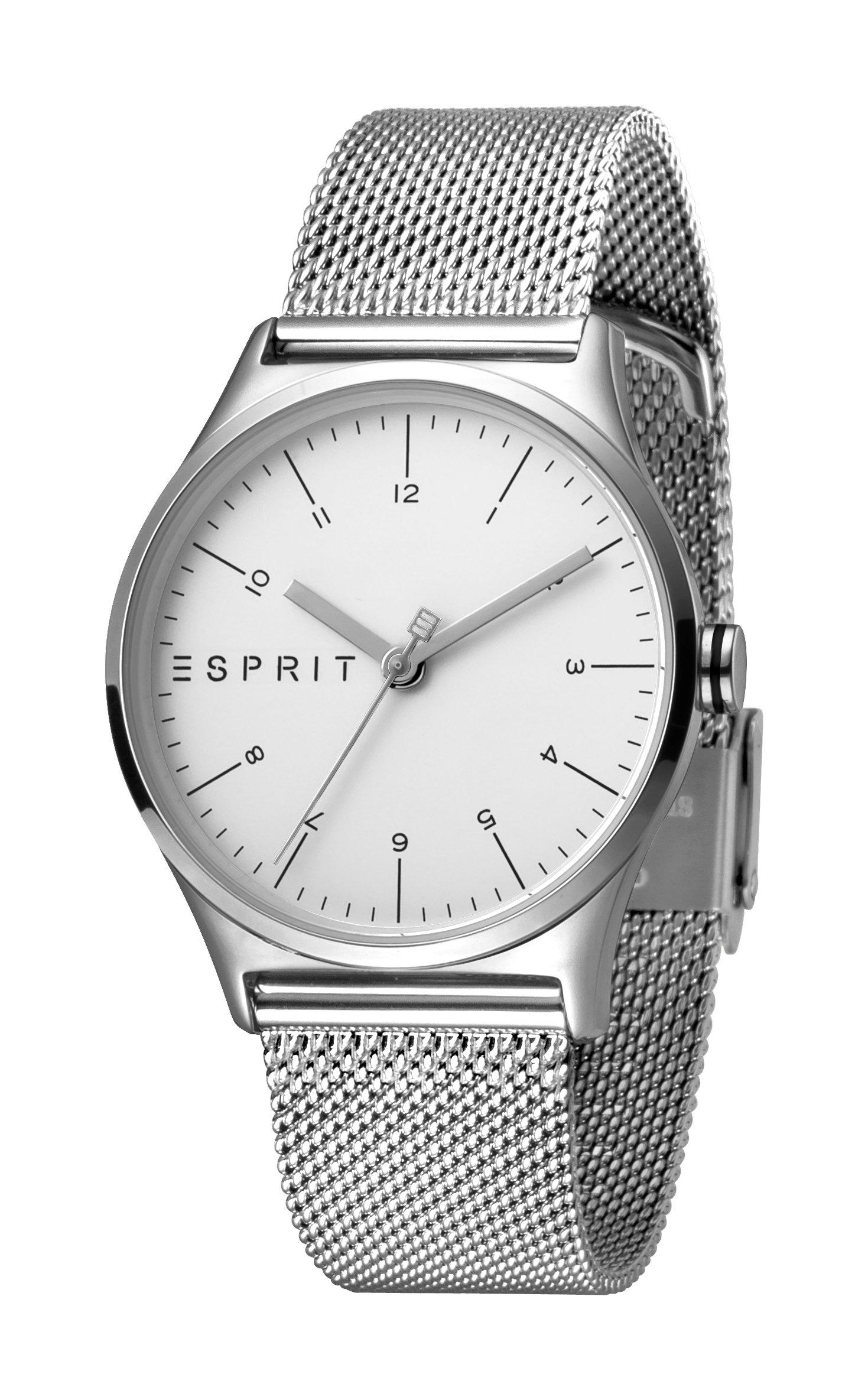 816fbdd4a Hodinky ESPRIT Essential Silver Mesh - Glami.sk