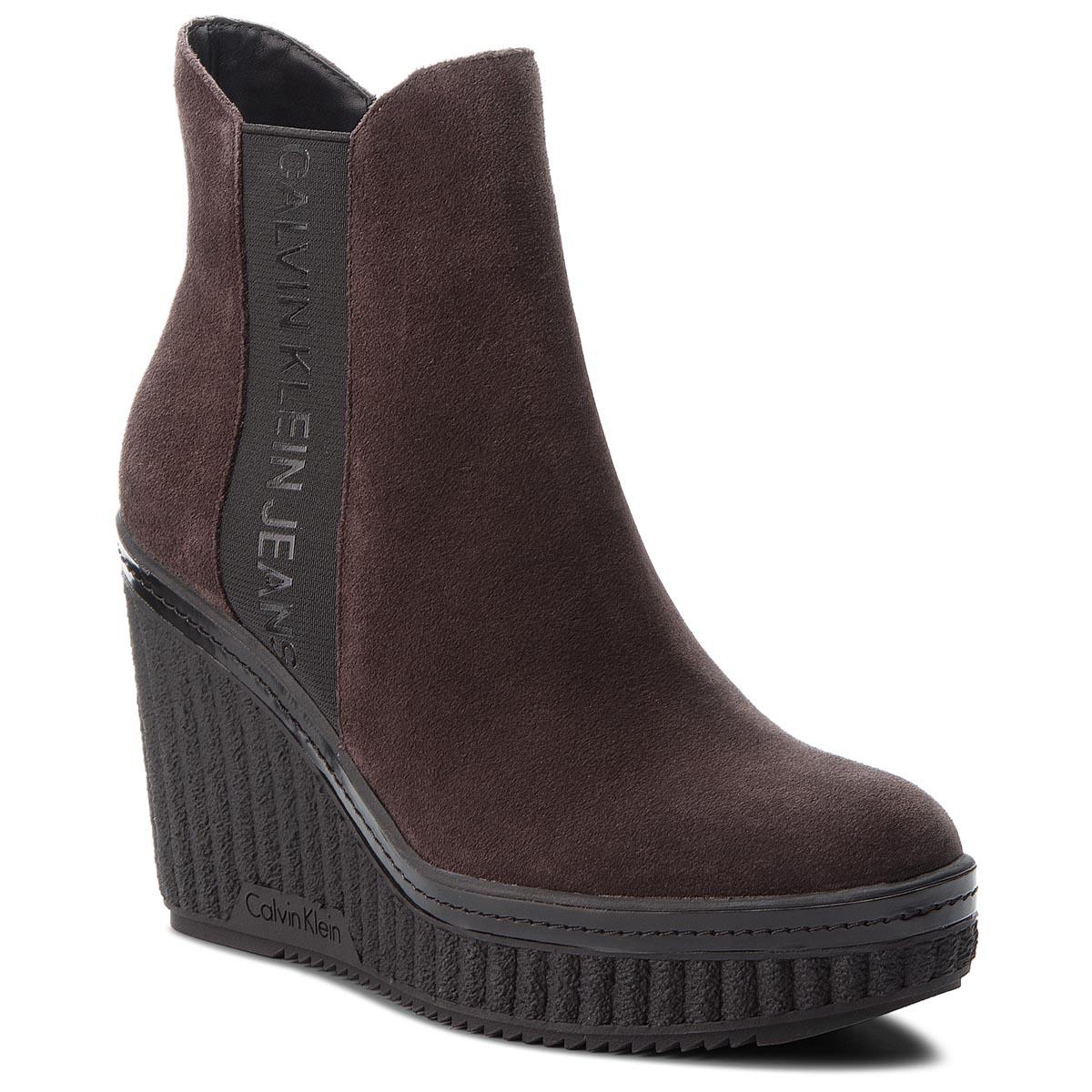 Magasított cipő CALVIN KLEIN JEANS - Shanna RE9765 Dark Brown - Glami.hu 60aa76c9cd