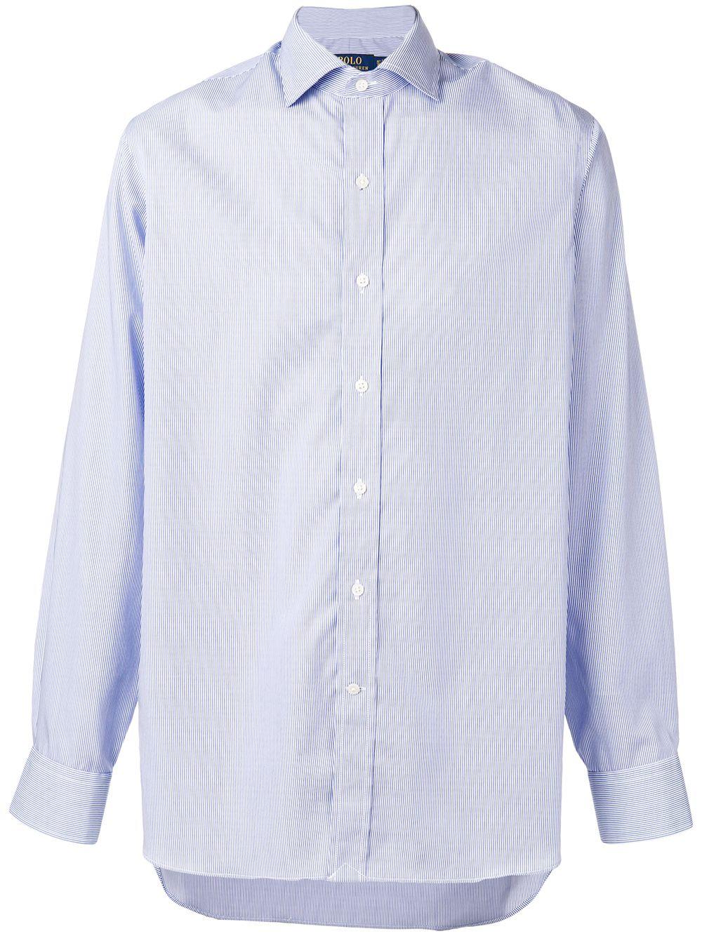 Polo Ralph Lauren classic longsleeved shirt - Blue - Glami.sk ac12c7c8828