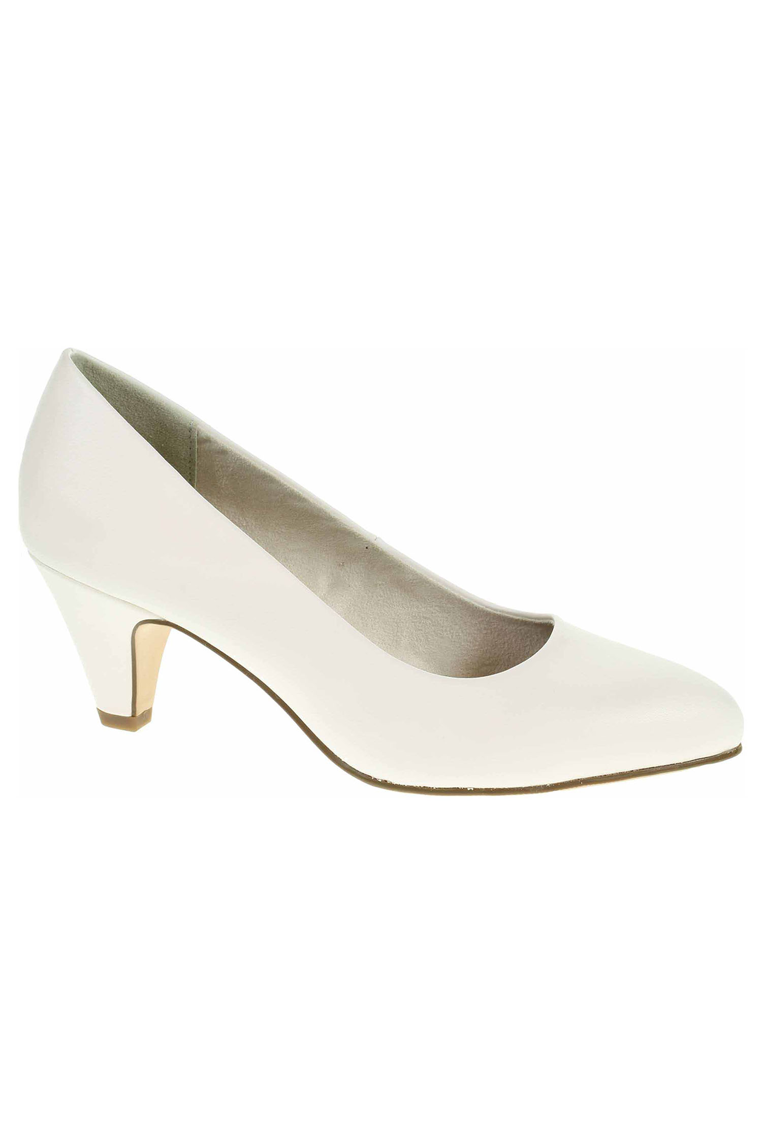 2c44d7325fa9b Dámská společenská obuv Tamaris lodičky 1-22416-21 108 white matt 1-1. 1