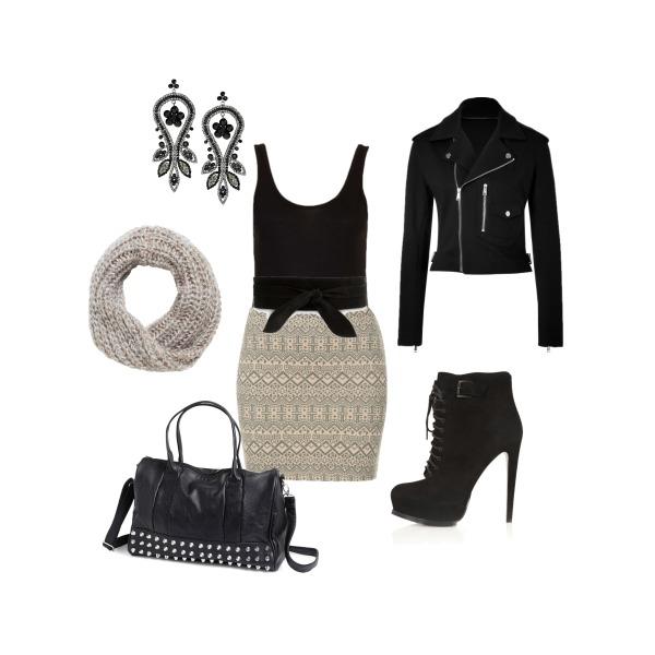 Autumn shopping day