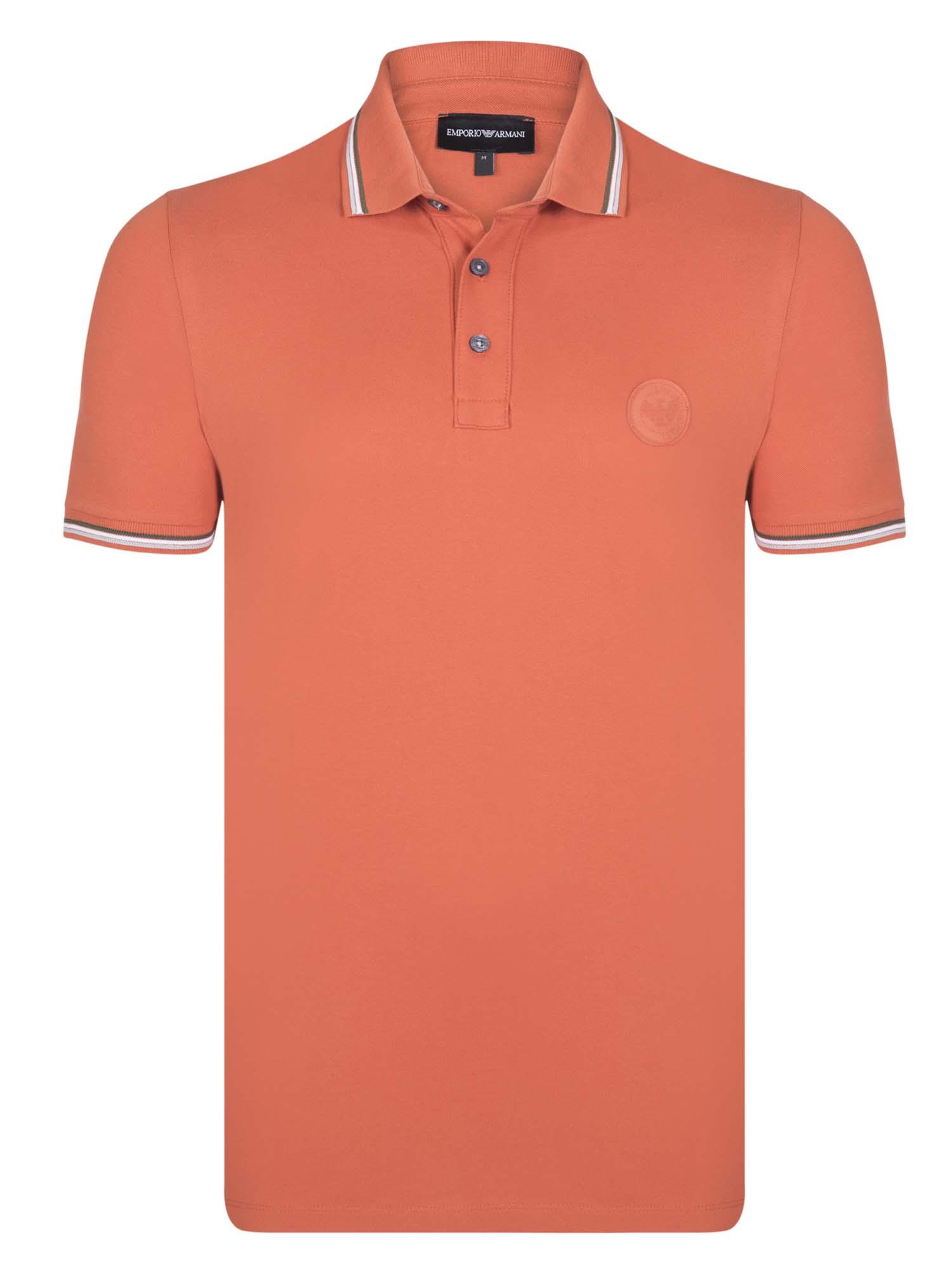 ... elegantní polokošile od Armani Jeans. -37%. Oranžovo-šedá ... 1d9808e23e