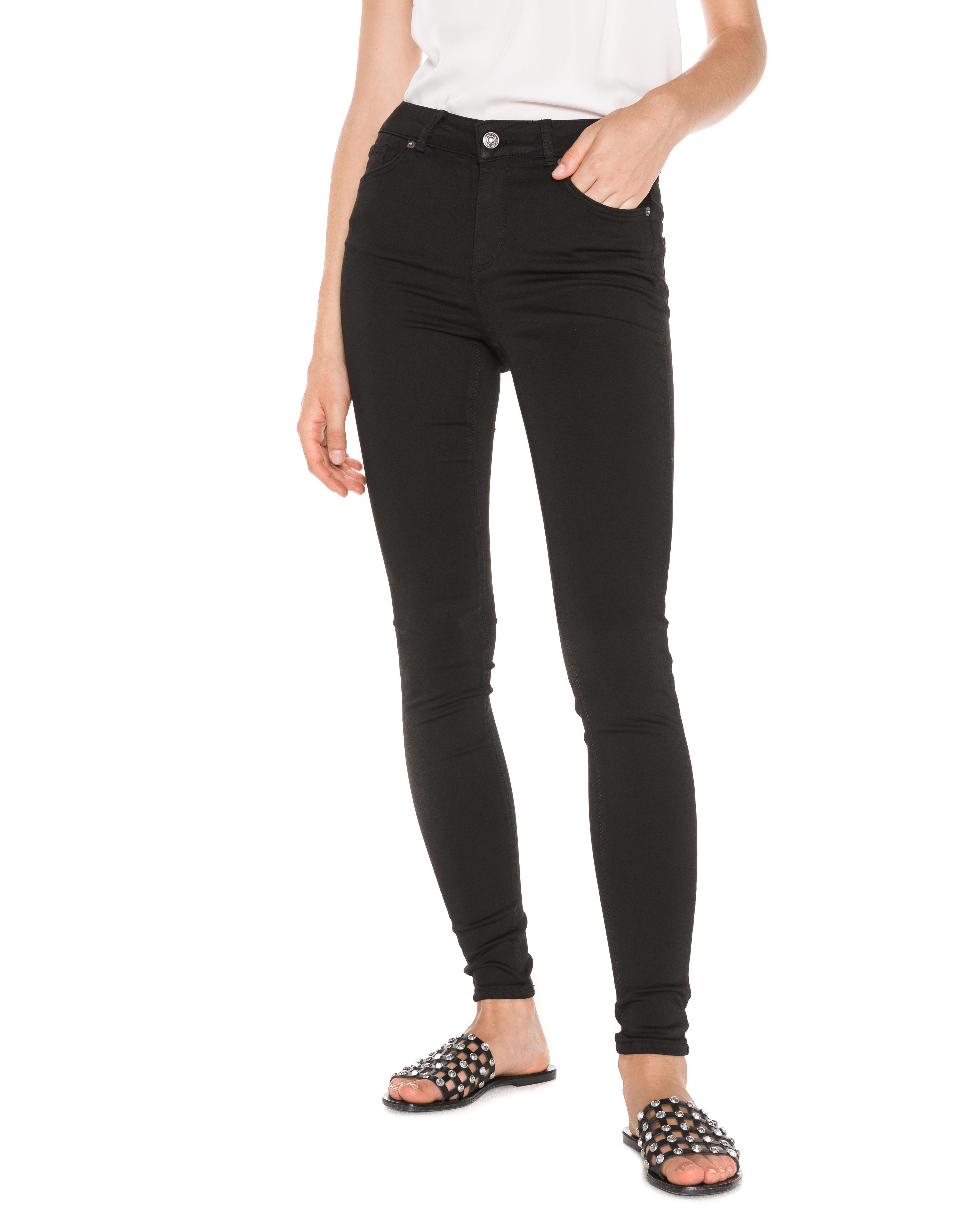 d8839e2a0d5 Vero Moda Lux Jeans Čierna - Glami.sk