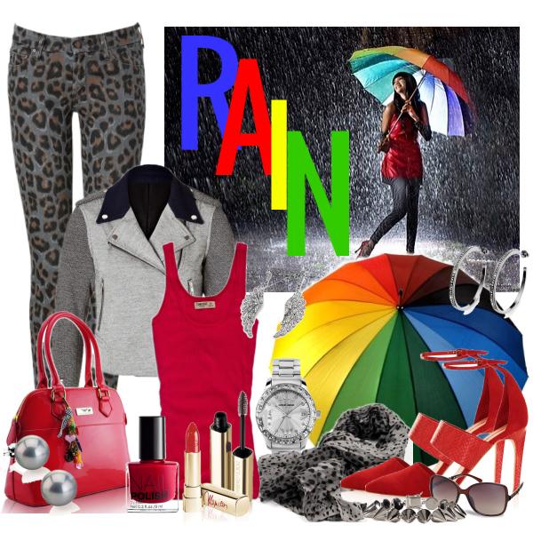 Colours in rain
